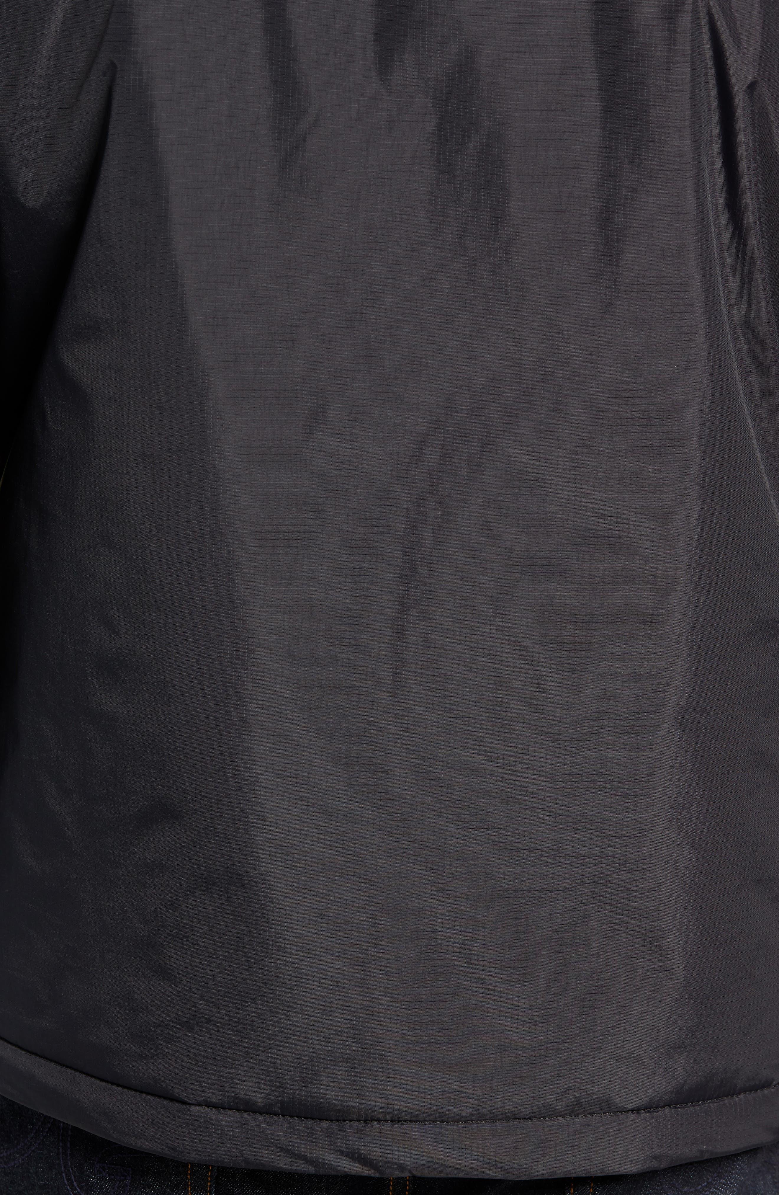 Resolve Waterproof Jacket,                             Alternate thumbnail 6, color,                             TNF BLACK
