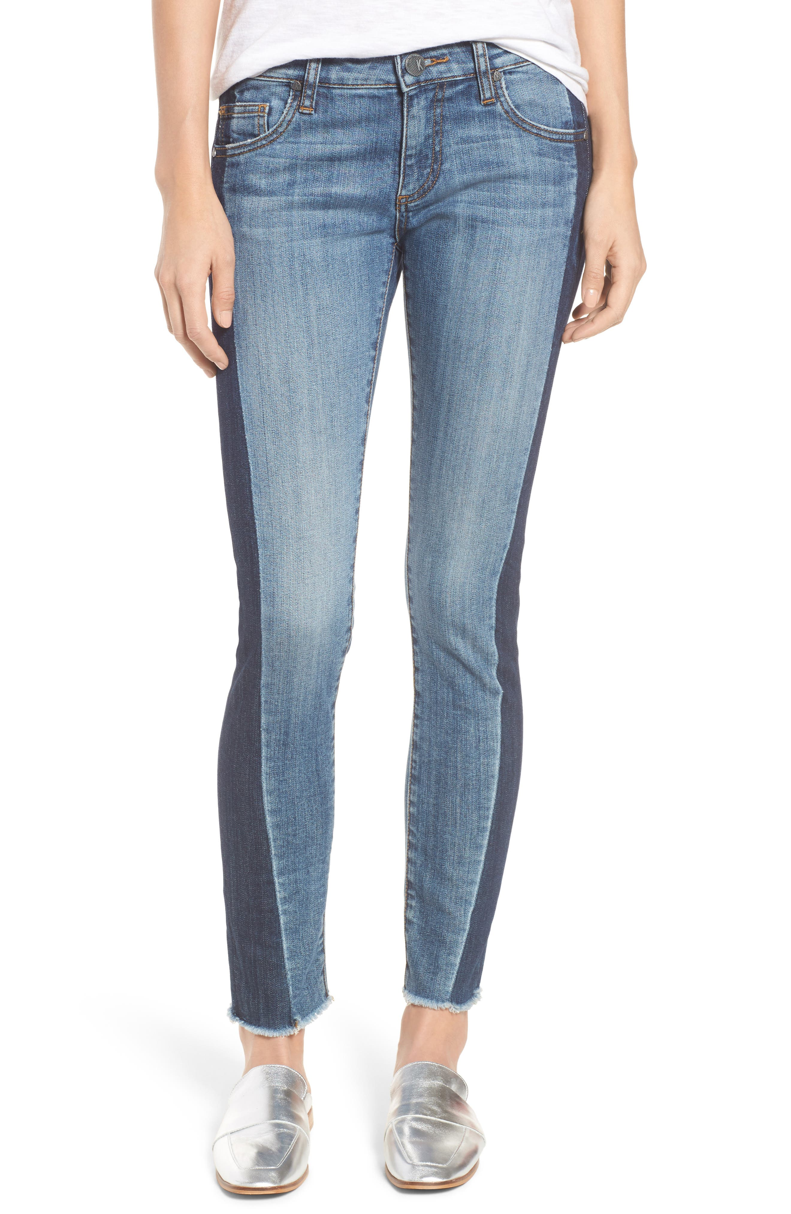 Reese Patch Jeans,                         Main,                         color, 460