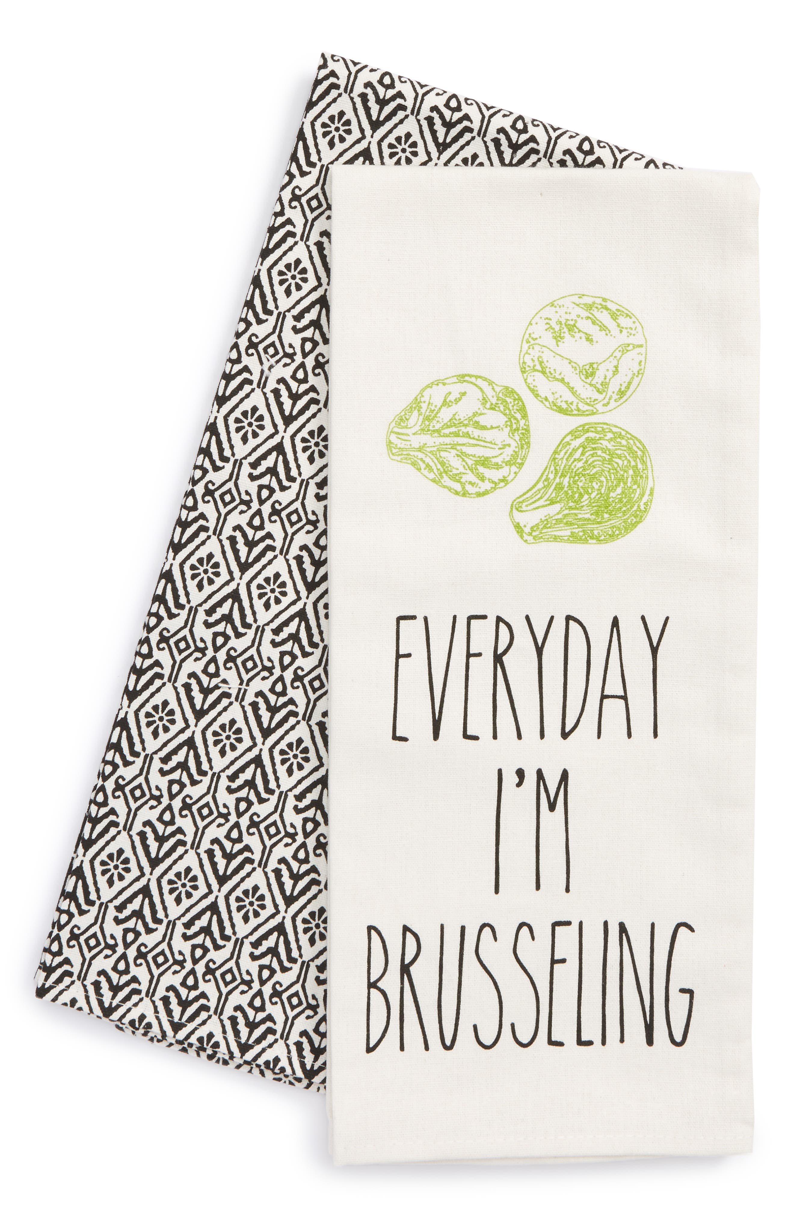 Brusseling Set of 2 Dish Towels,                             Main thumbnail 1, color,                             900