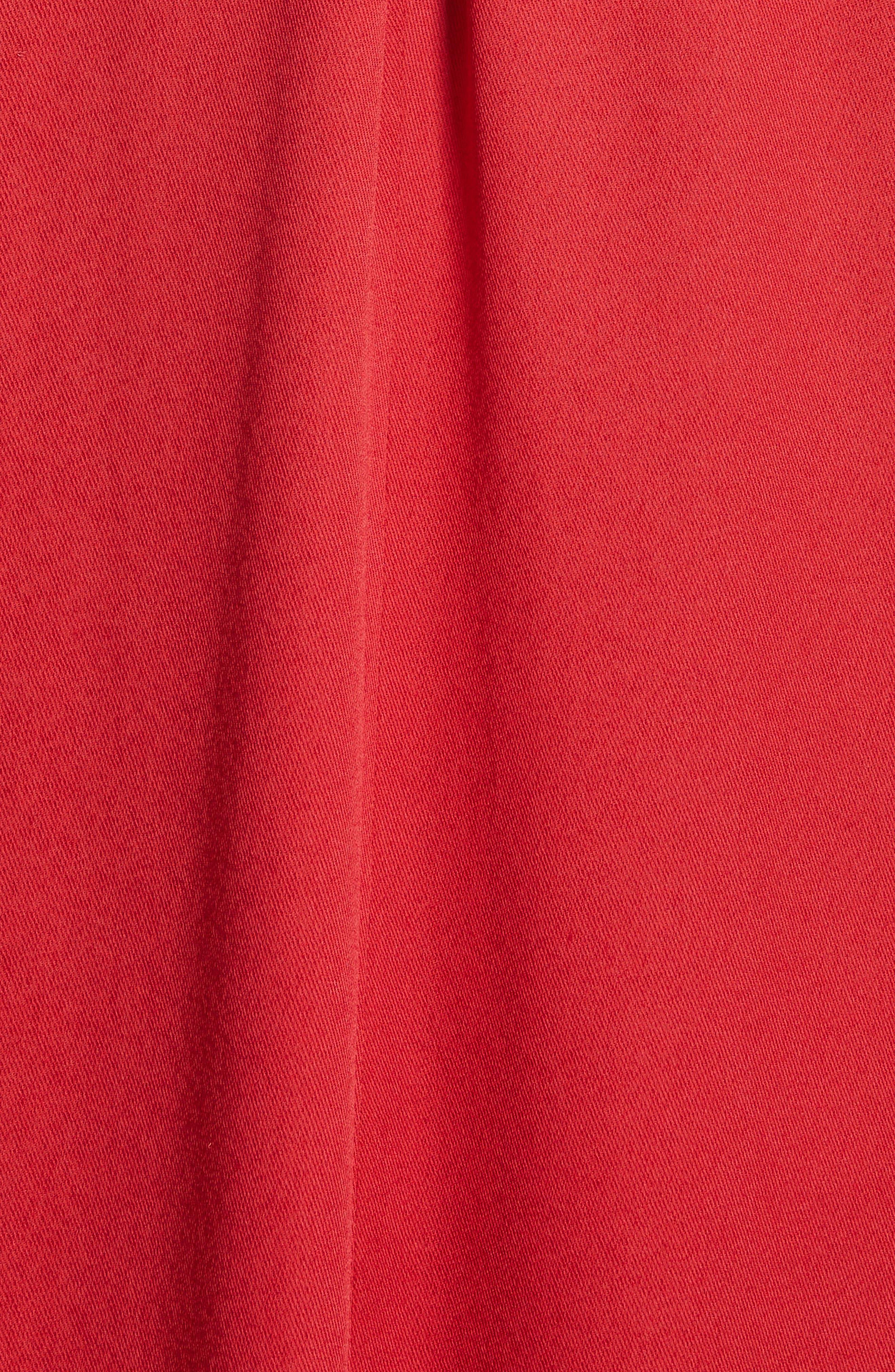 Eco Gathered Maxi Dress,                             Alternate thumbnail 5, color,