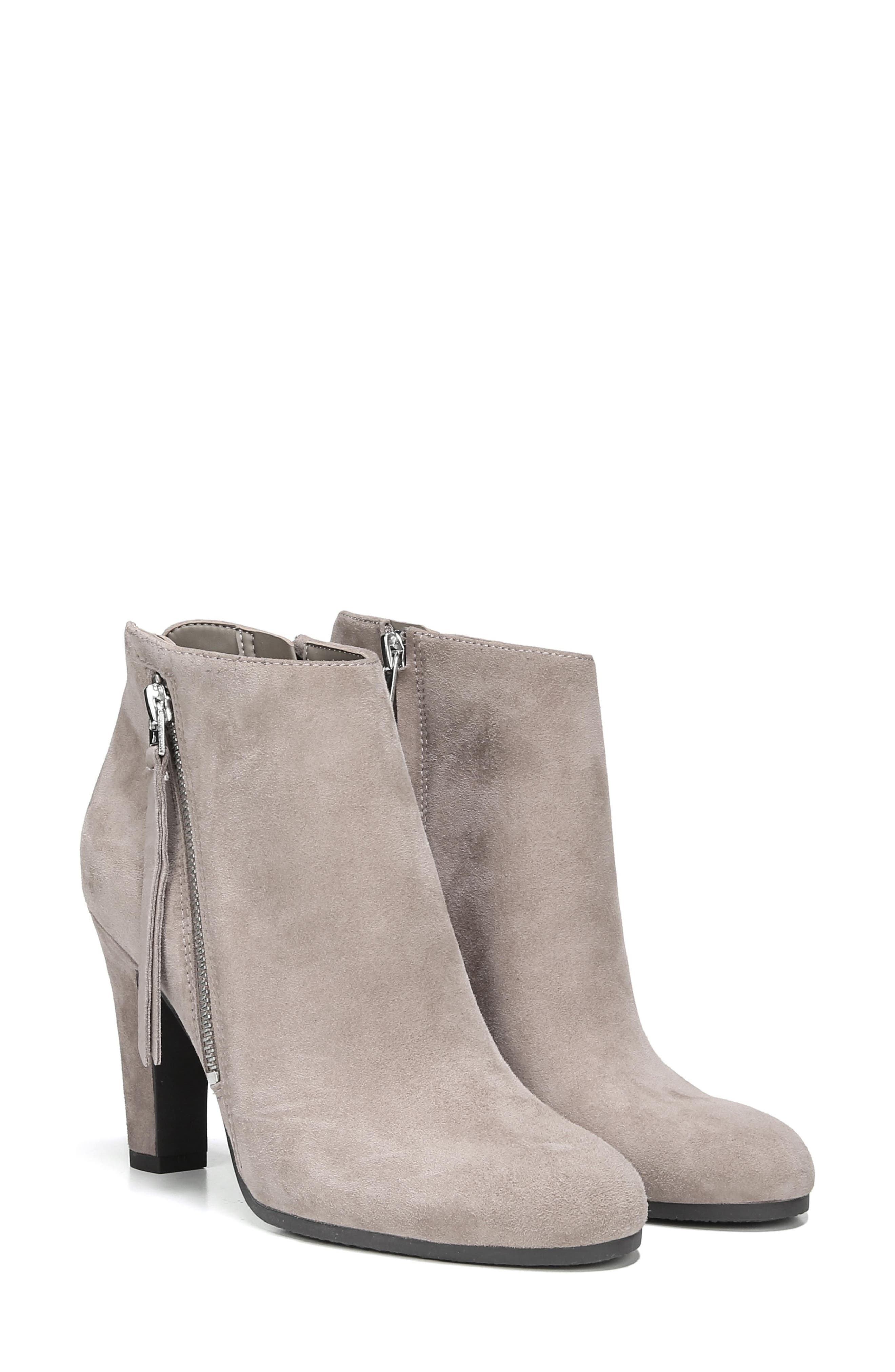 Sadee Angle Zip Bootie,                             Alternate thumbnail 8, color,                             NEW PUTTY SUEDE