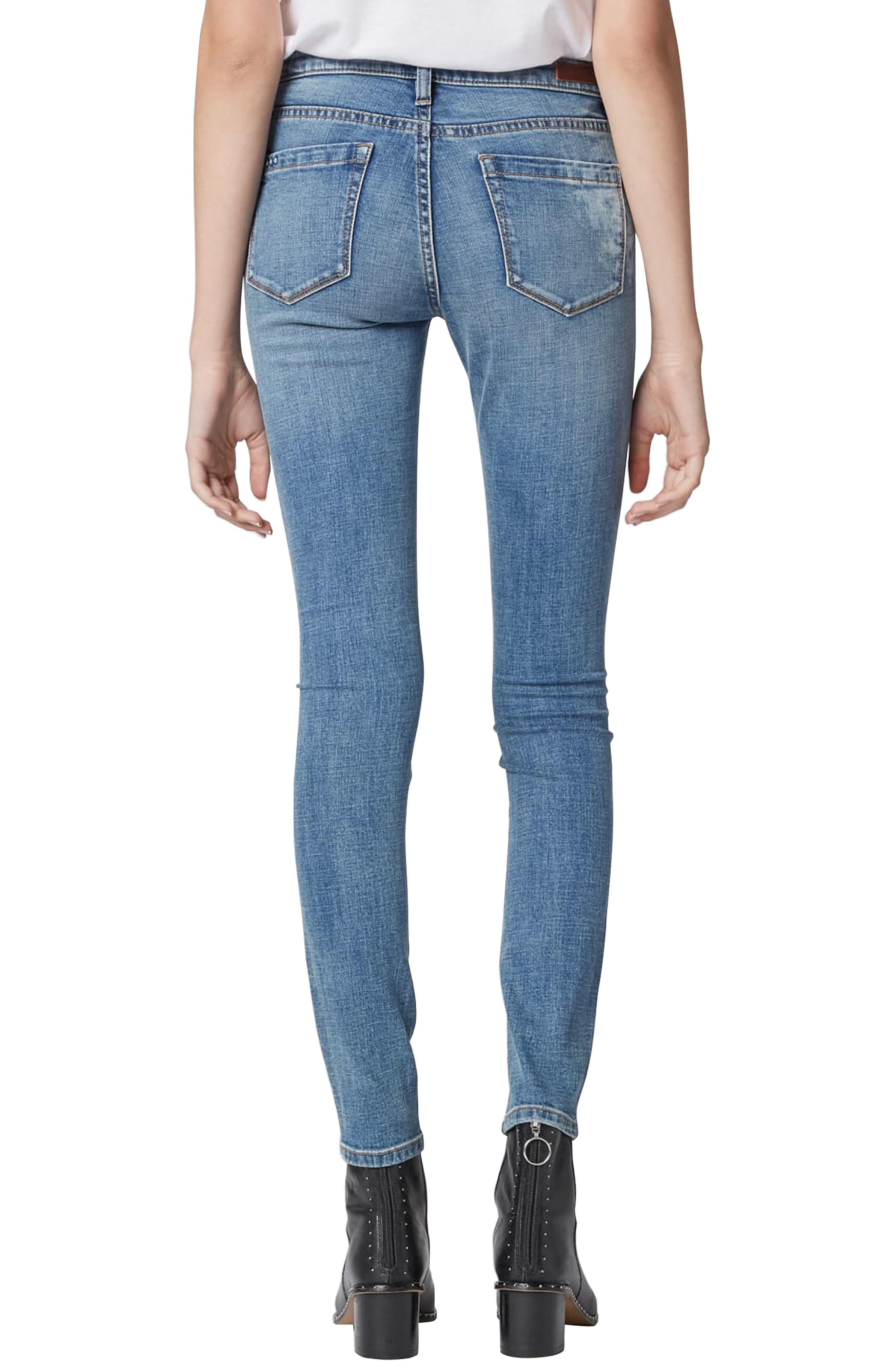 BLANKNYC,                             The Reade Skinny Jeans,                             Alternate thumbnail 2, color,                             LAGUNA BEACH