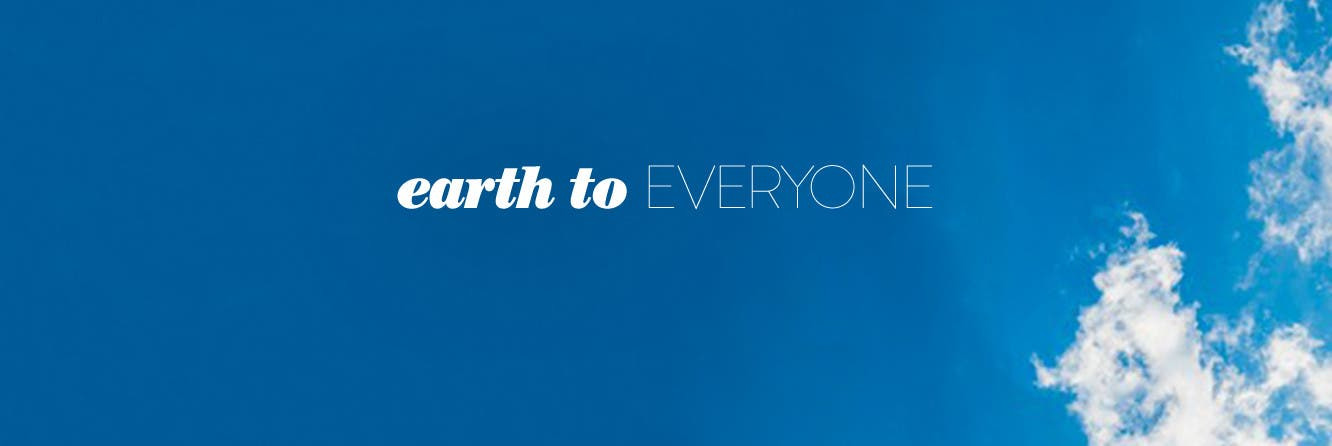 Earth to everyone: sustainable fashion.