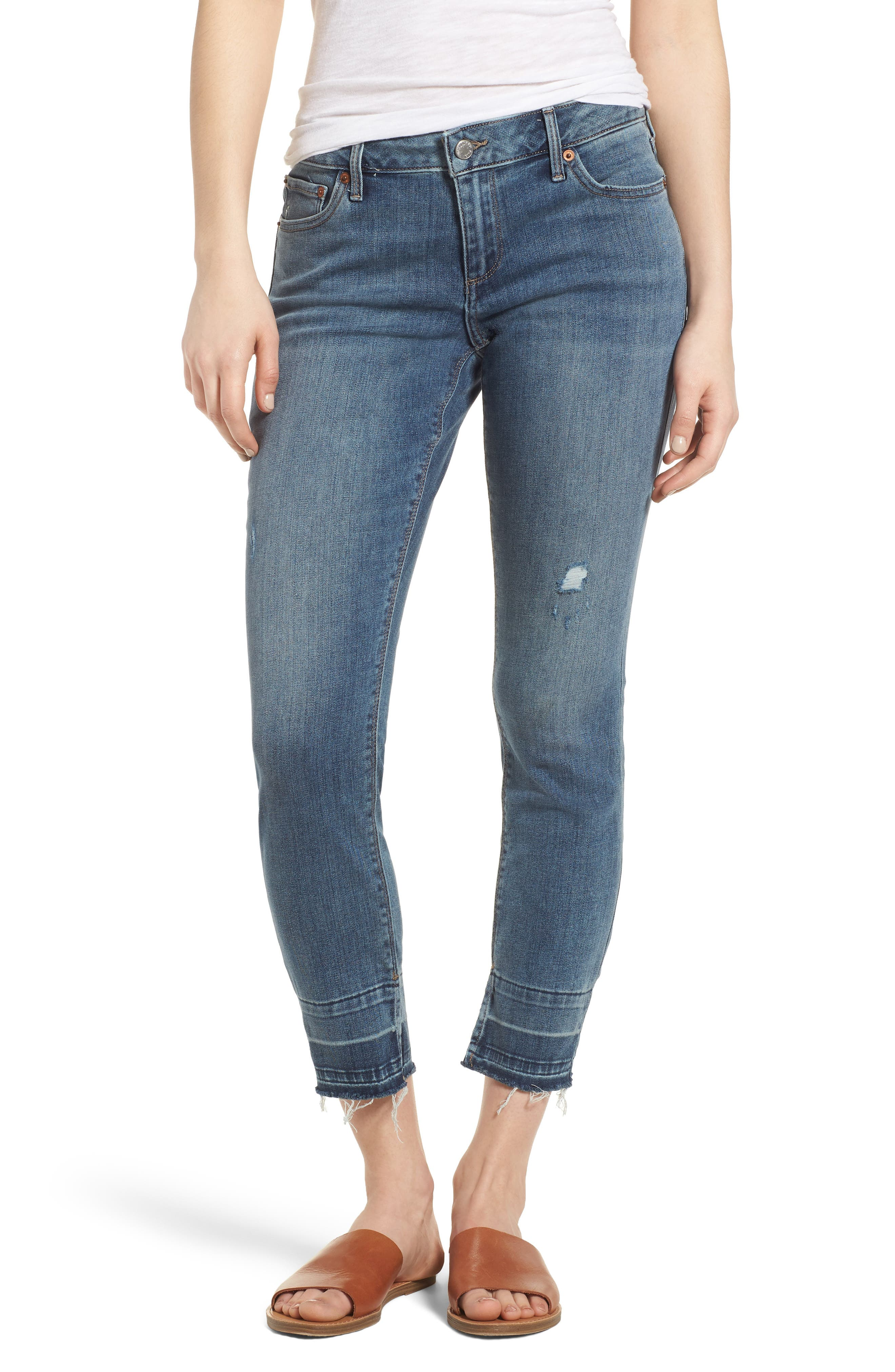 Lolita Skinny Cropped Denim Jeans,                         Main,                         color, 420