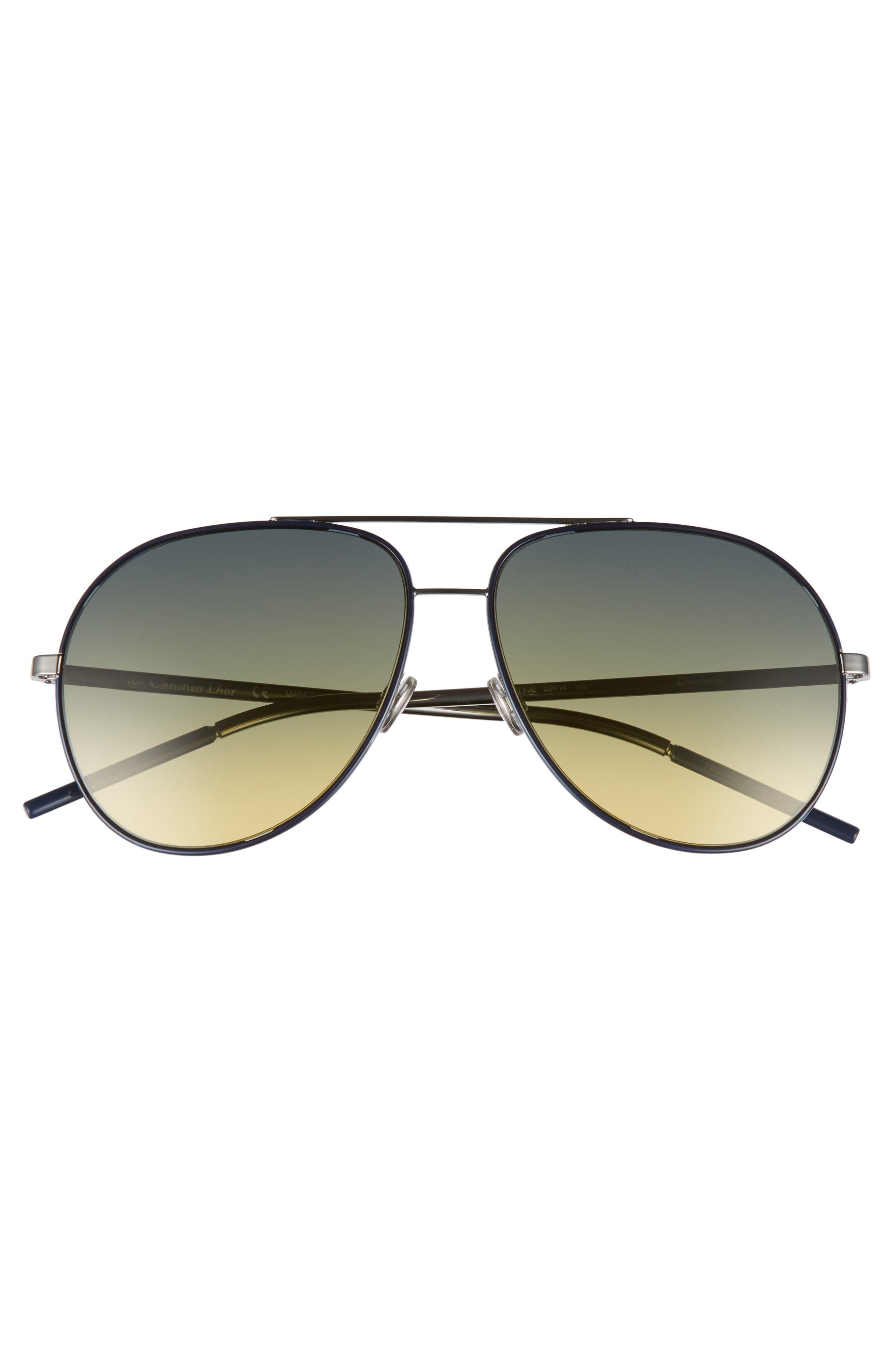 Astrals 59mm Aviator Sunglasses,                             Alternate thumbnail 10, color,