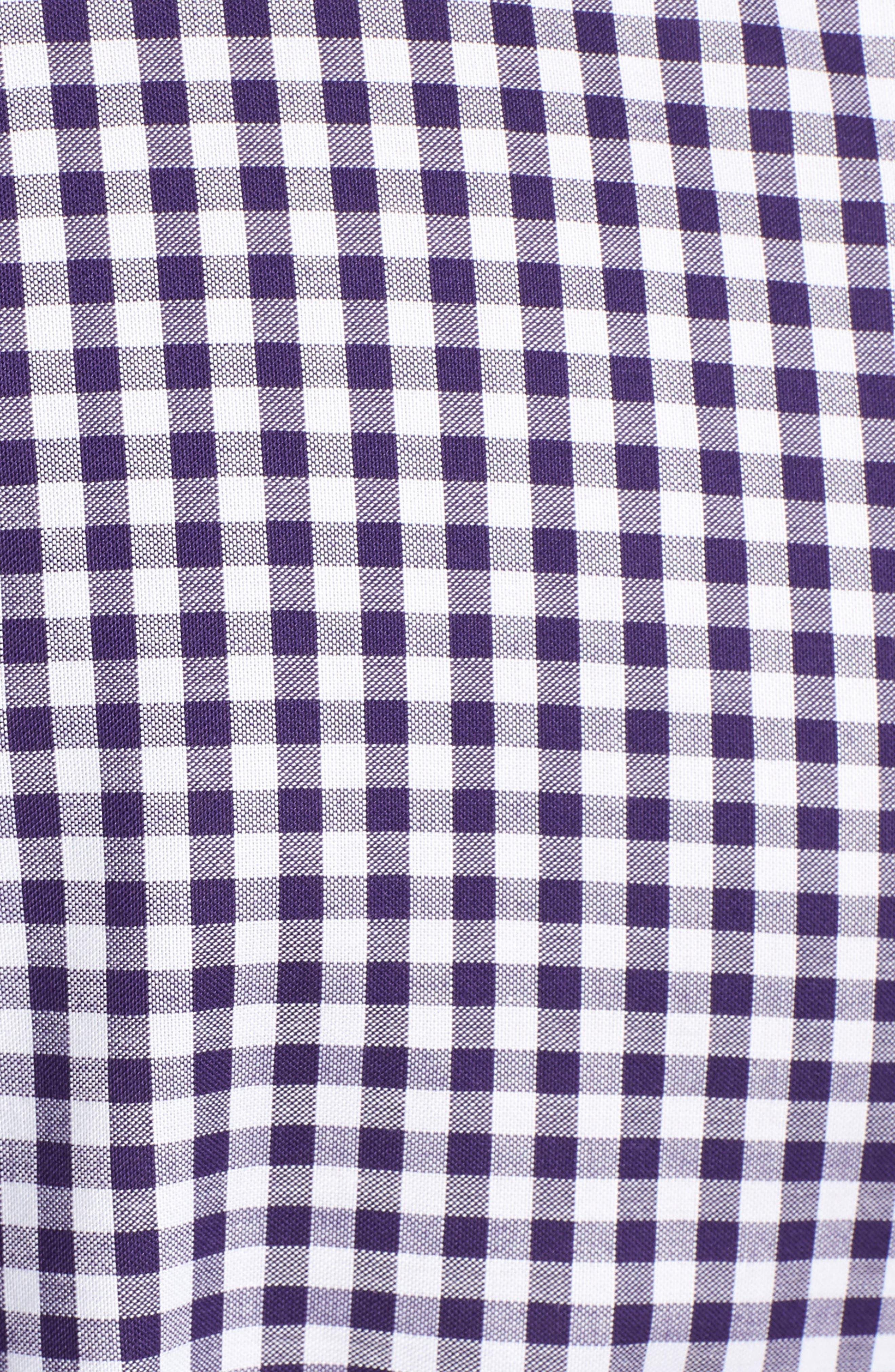 League Baltimore Ravens Regular Fit Shirt,                             Alternate thumbnail 5, color,                             COLLEGE PURPLE