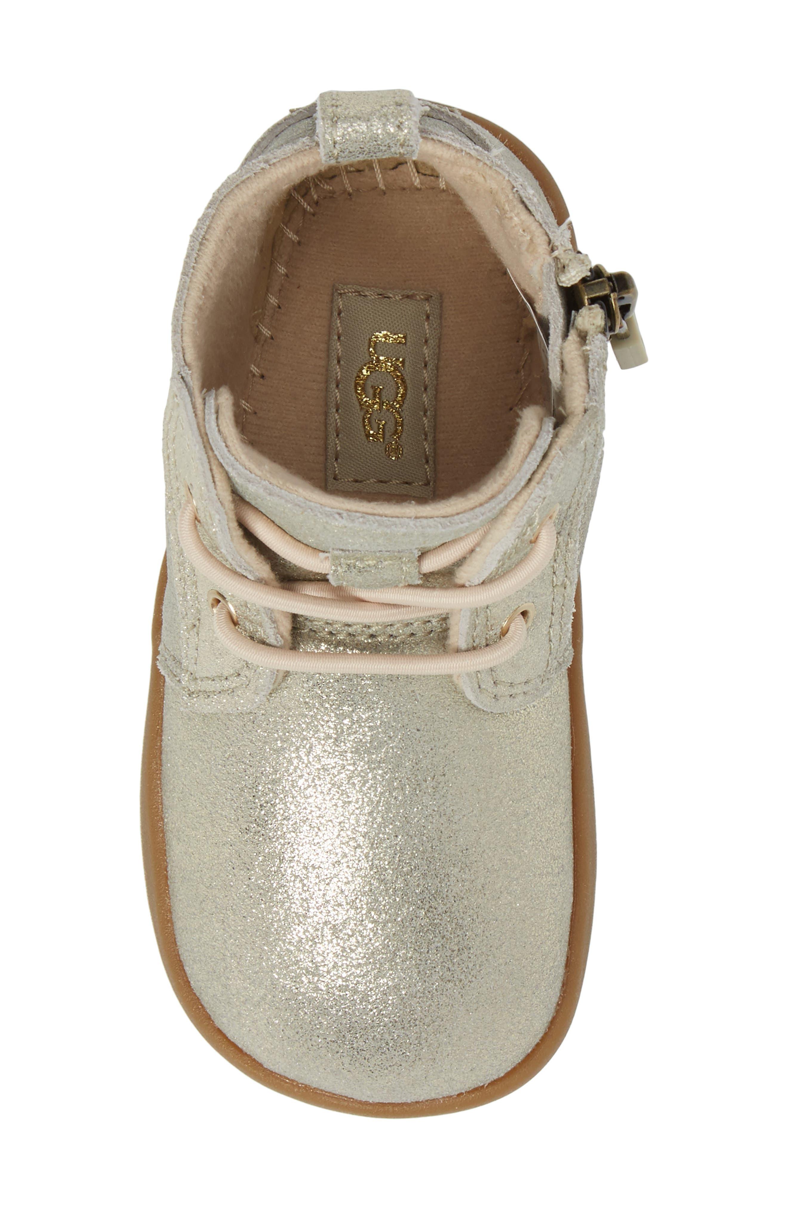 UGG<SUP>®</SUP>,                             Kristjan Metallic Sneaker Boot,                             Alternate thumbnail 5, color,                             710