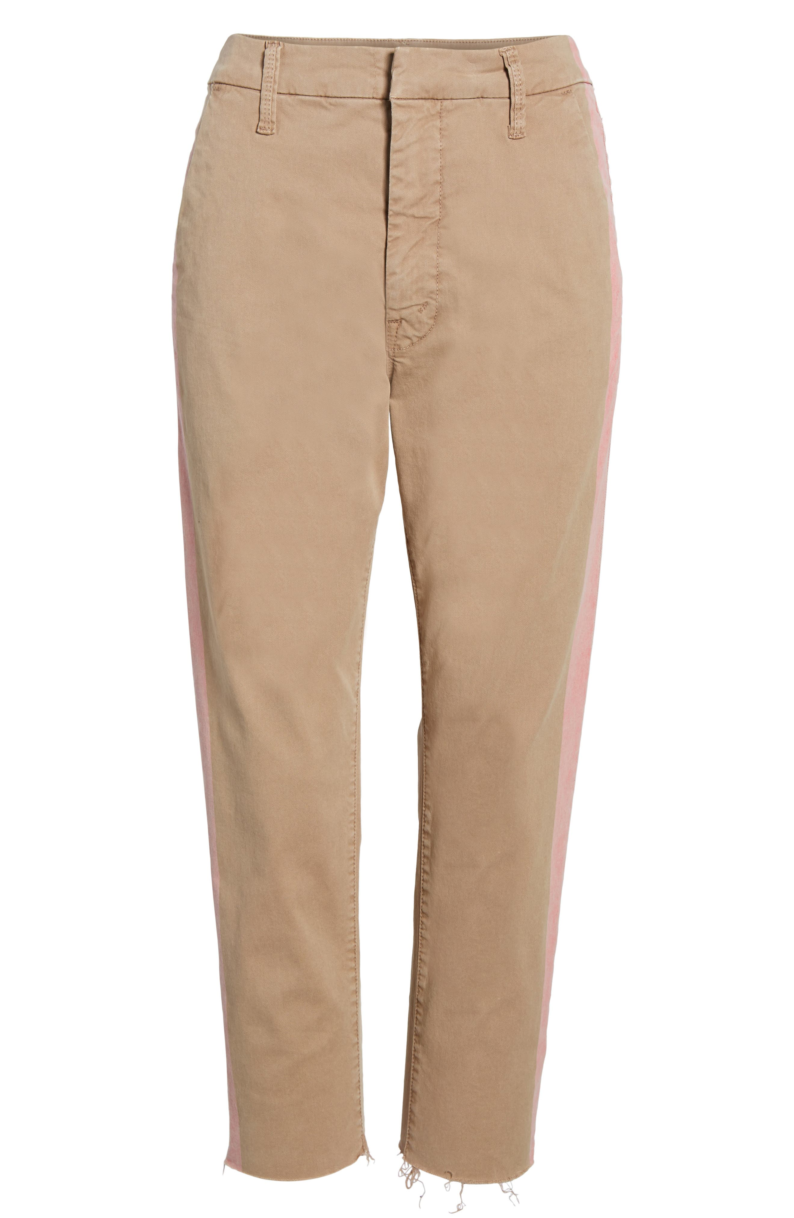 The Shaker Prep High Waist Crop Chinos,                             Alternate thumbnail 6, color,                             253