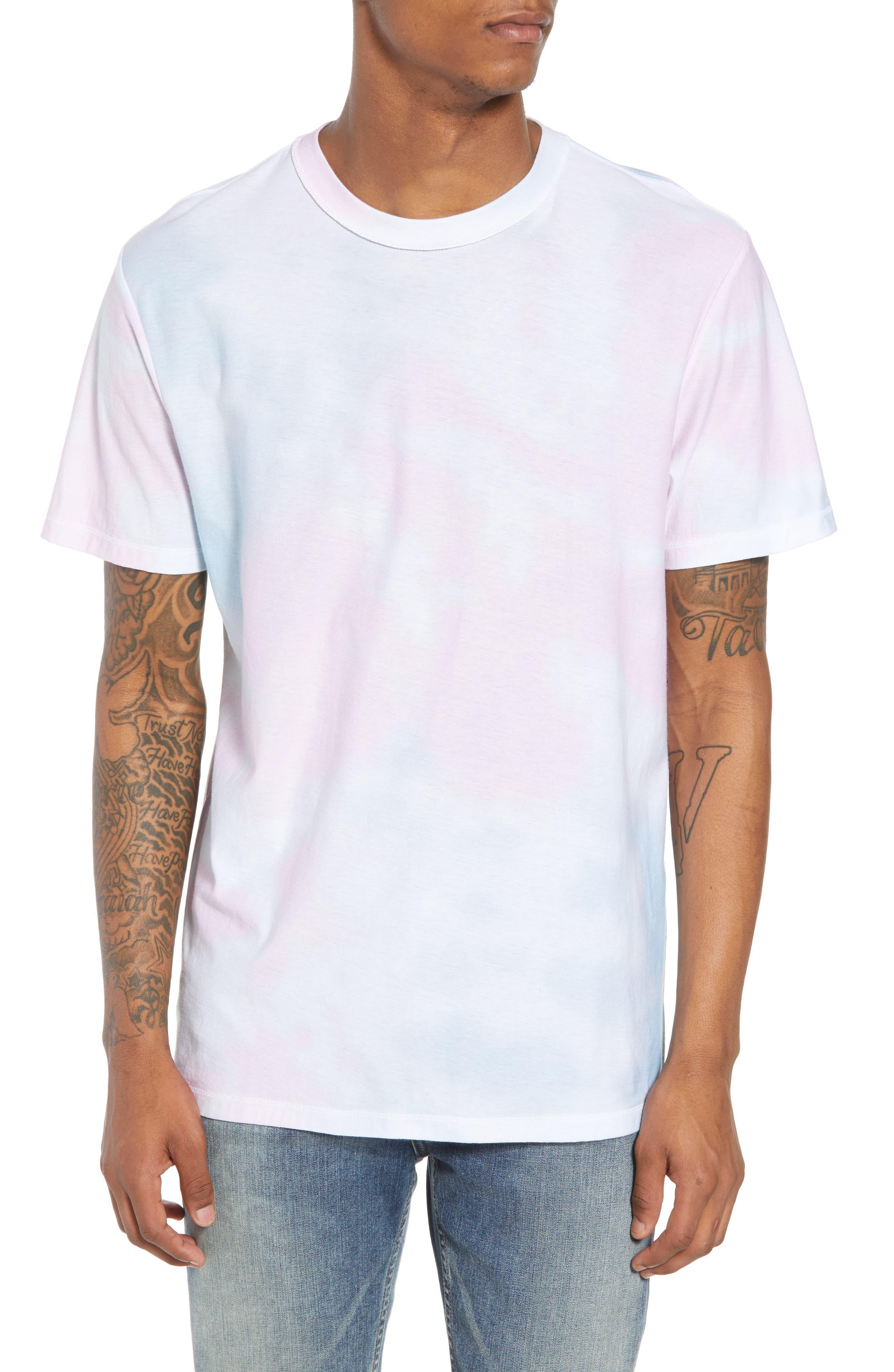 Reverse Tie Dye T-Shirt,                         Main,                         color, 100