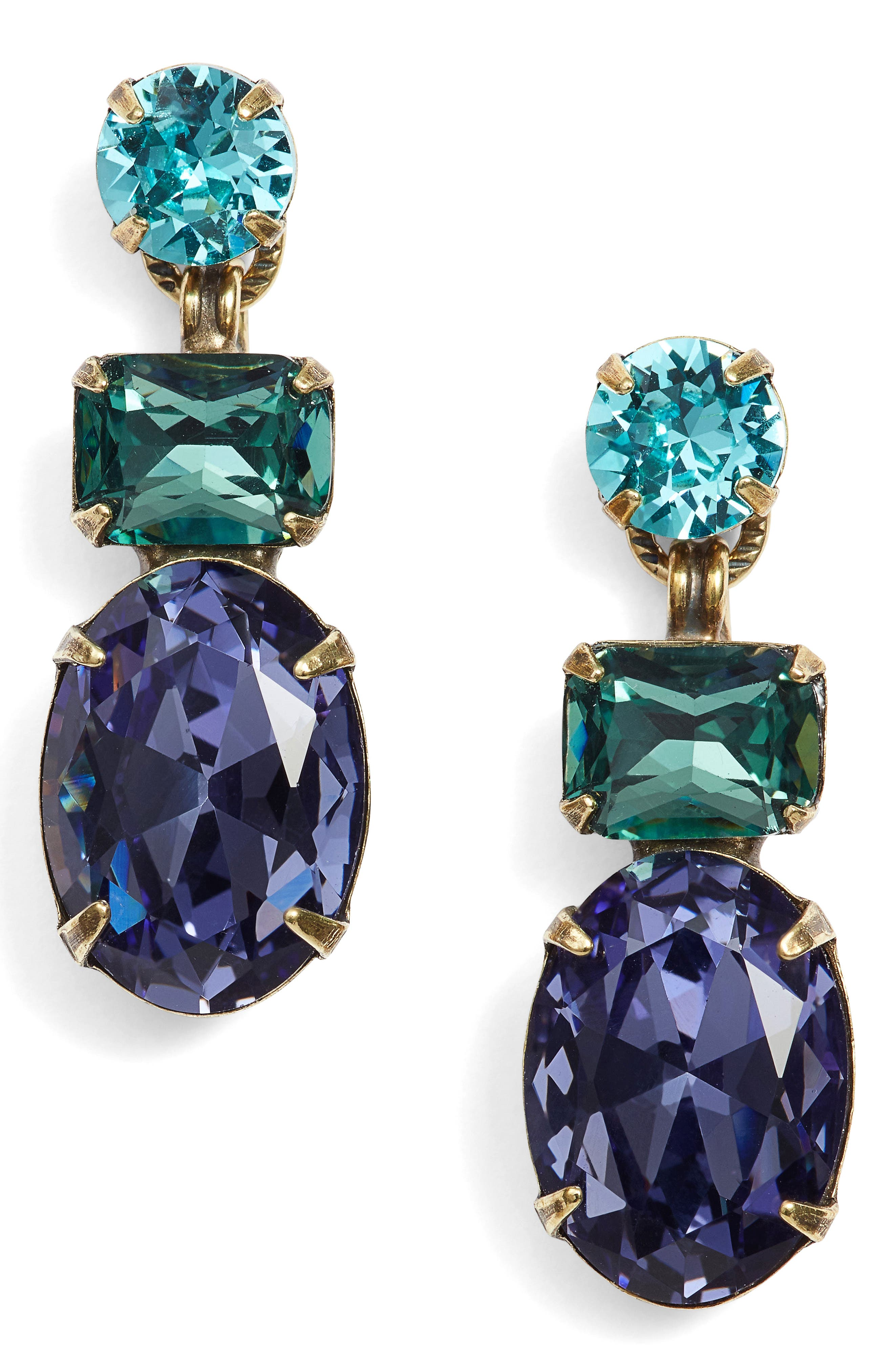 Forget Me Not Drop Earrings,                             Main thumbnail 1, color,                             710