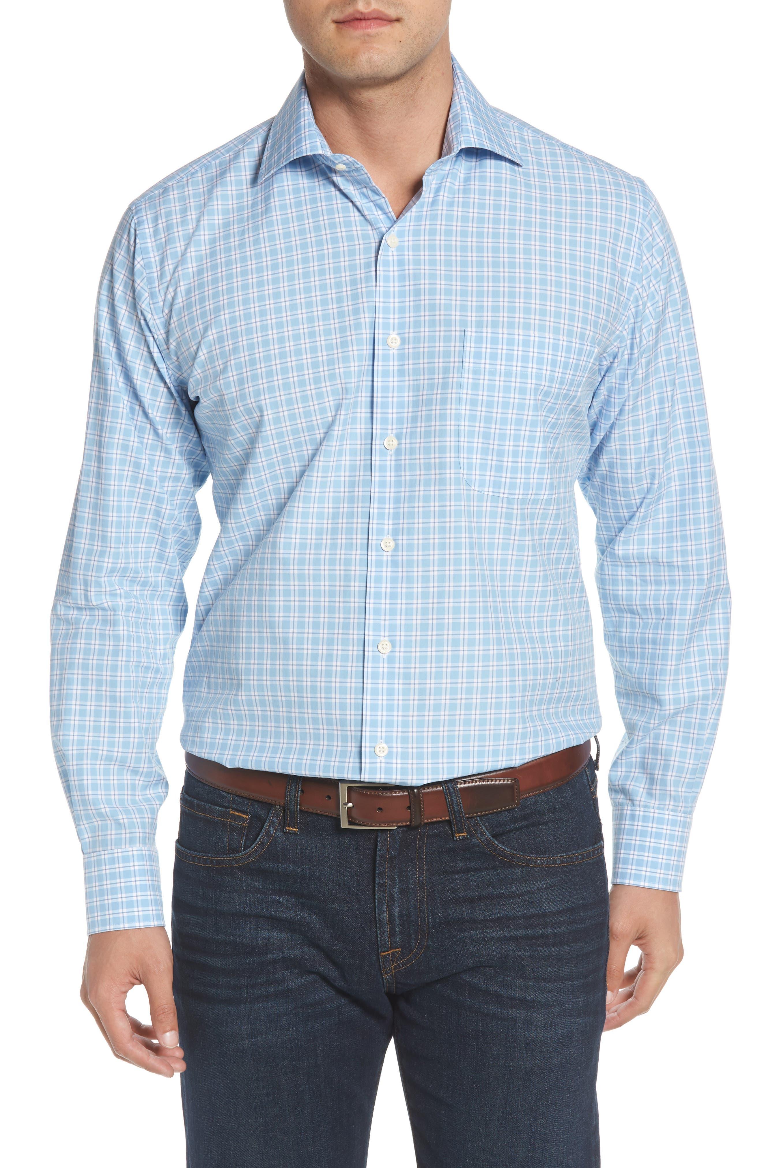Ballard Regular Fit Check Sport Shirt,                             Main thumbnail 1, color,                             400
