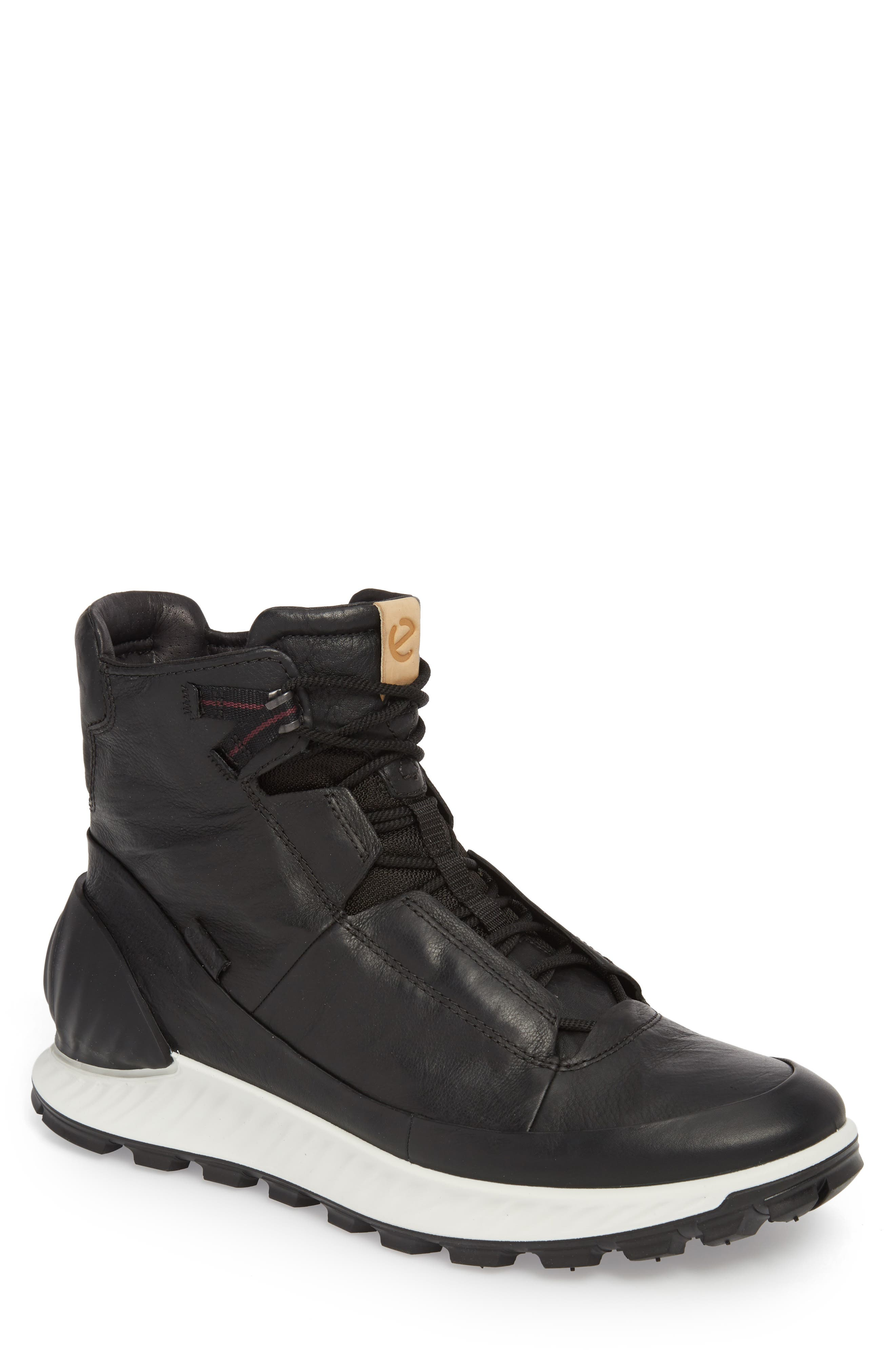Limited Edition Exostrike Dyneema Sneaker Boot,                             Main thumbnail 1, color,                             BLACK LEATHER