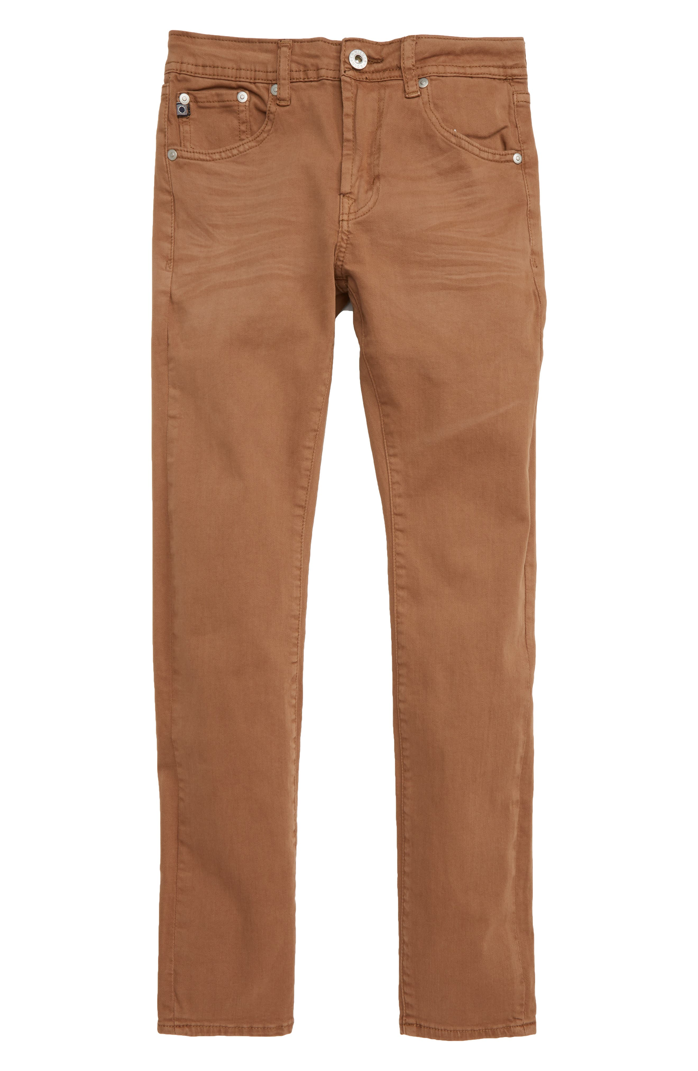 adriano goldschmied kids The Ryker Slim Skinny Jeans,                             Main thumbnail 1, color,                             MUSTARD GOLDEN OLIVE