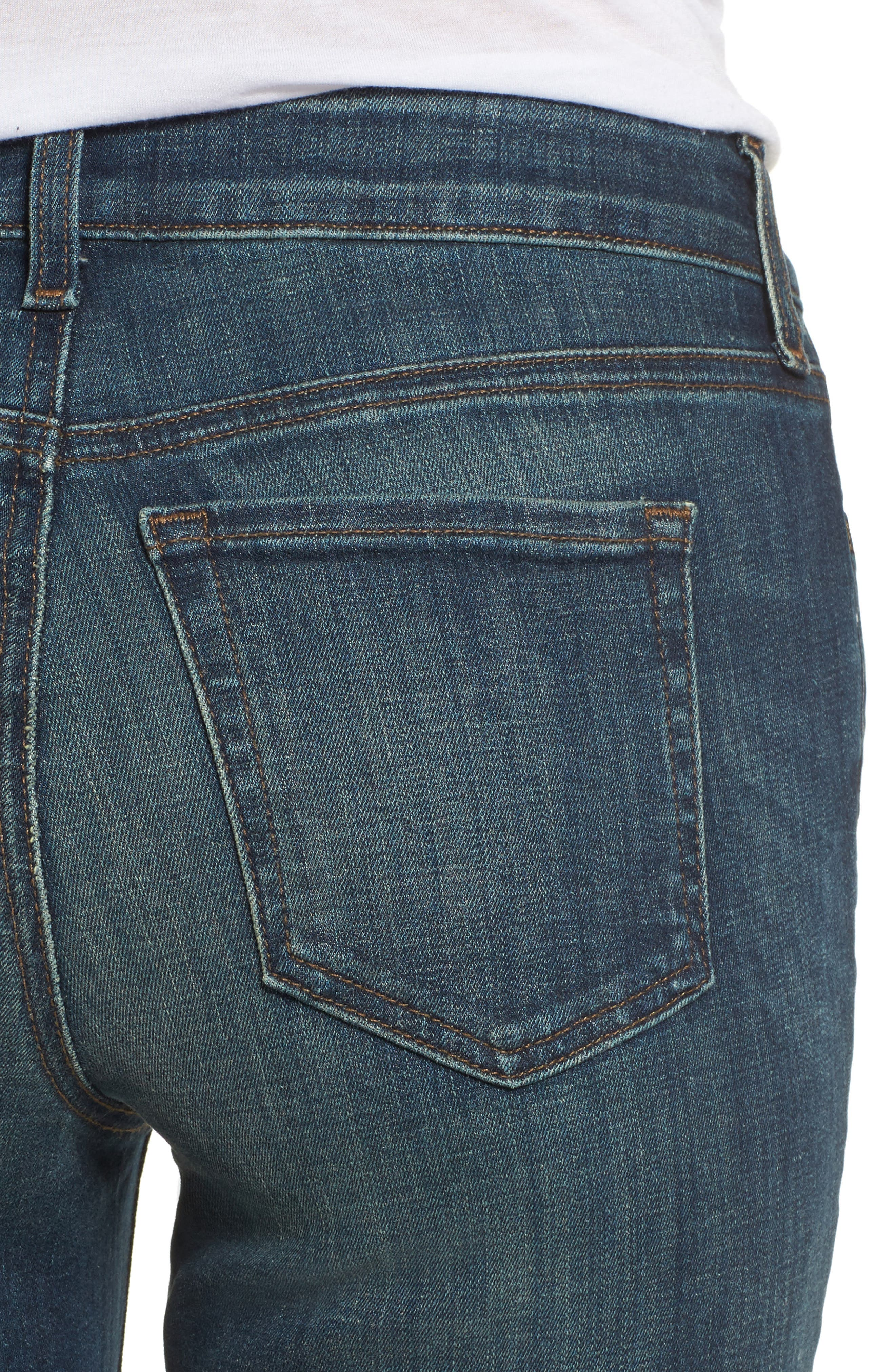 Stretch Boyfriend Jeans,                             Alternate thumbnail 8, color,