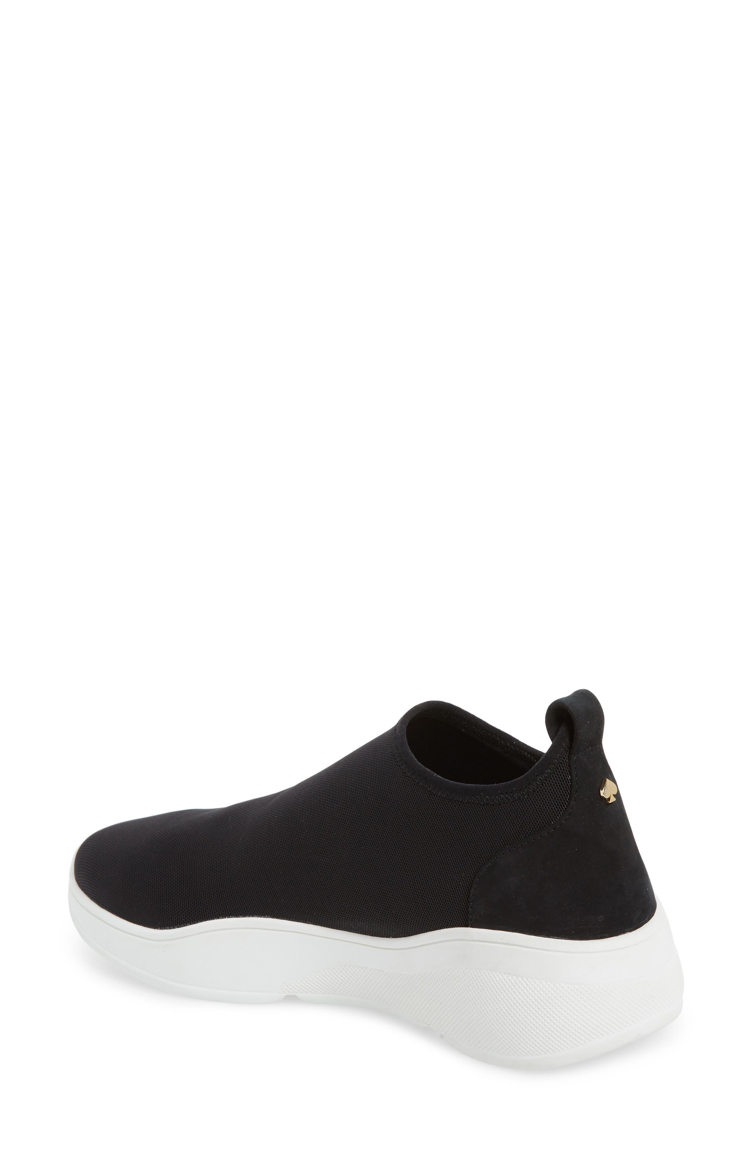 KATE SPADE NEW YORK,                             bradlee slip-on sneaker,                             Alternate thumbnail 2, color,                             001