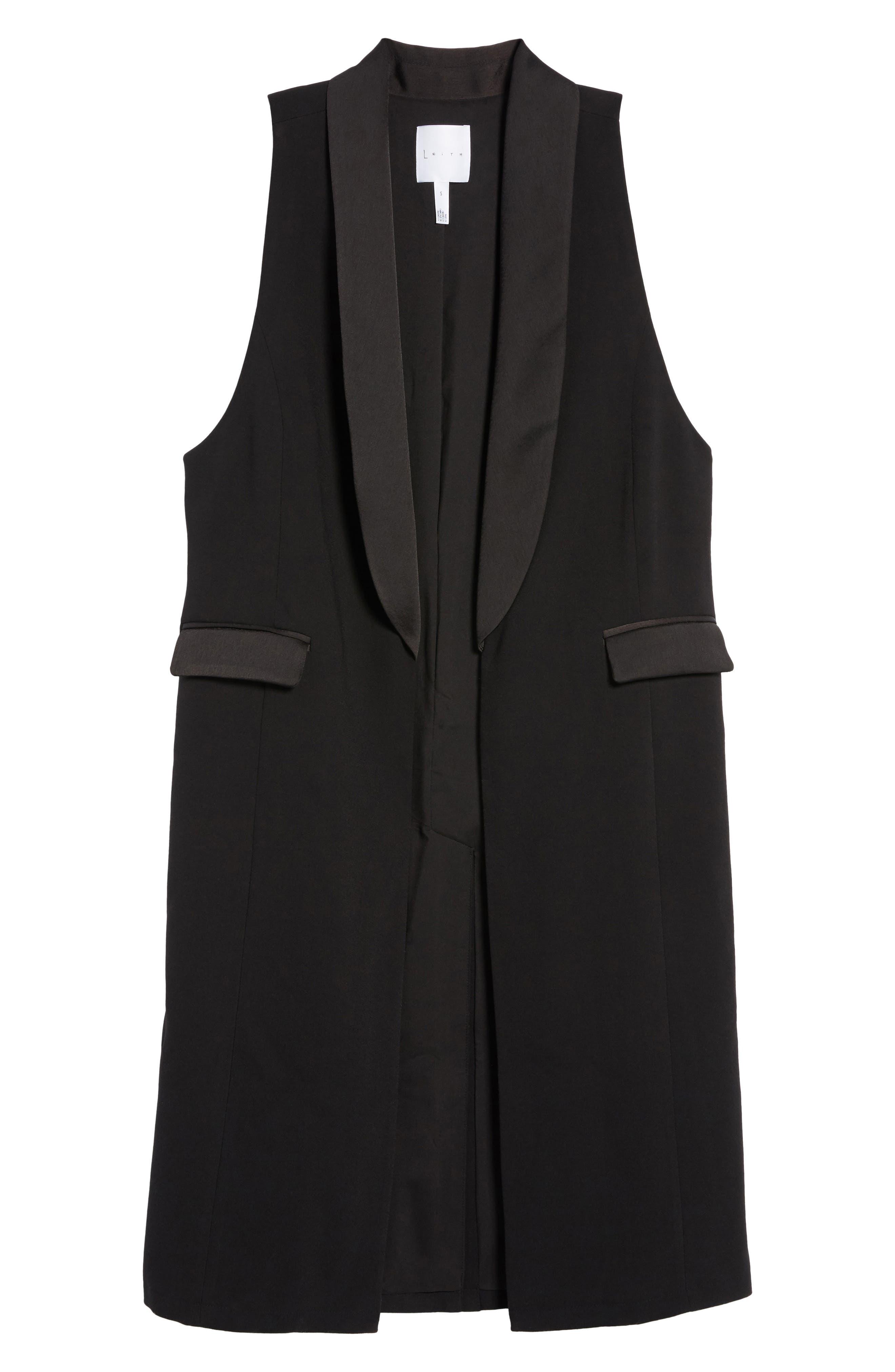 Tuxedo Vest,                             Alternate thumbnail 5, color,                             001