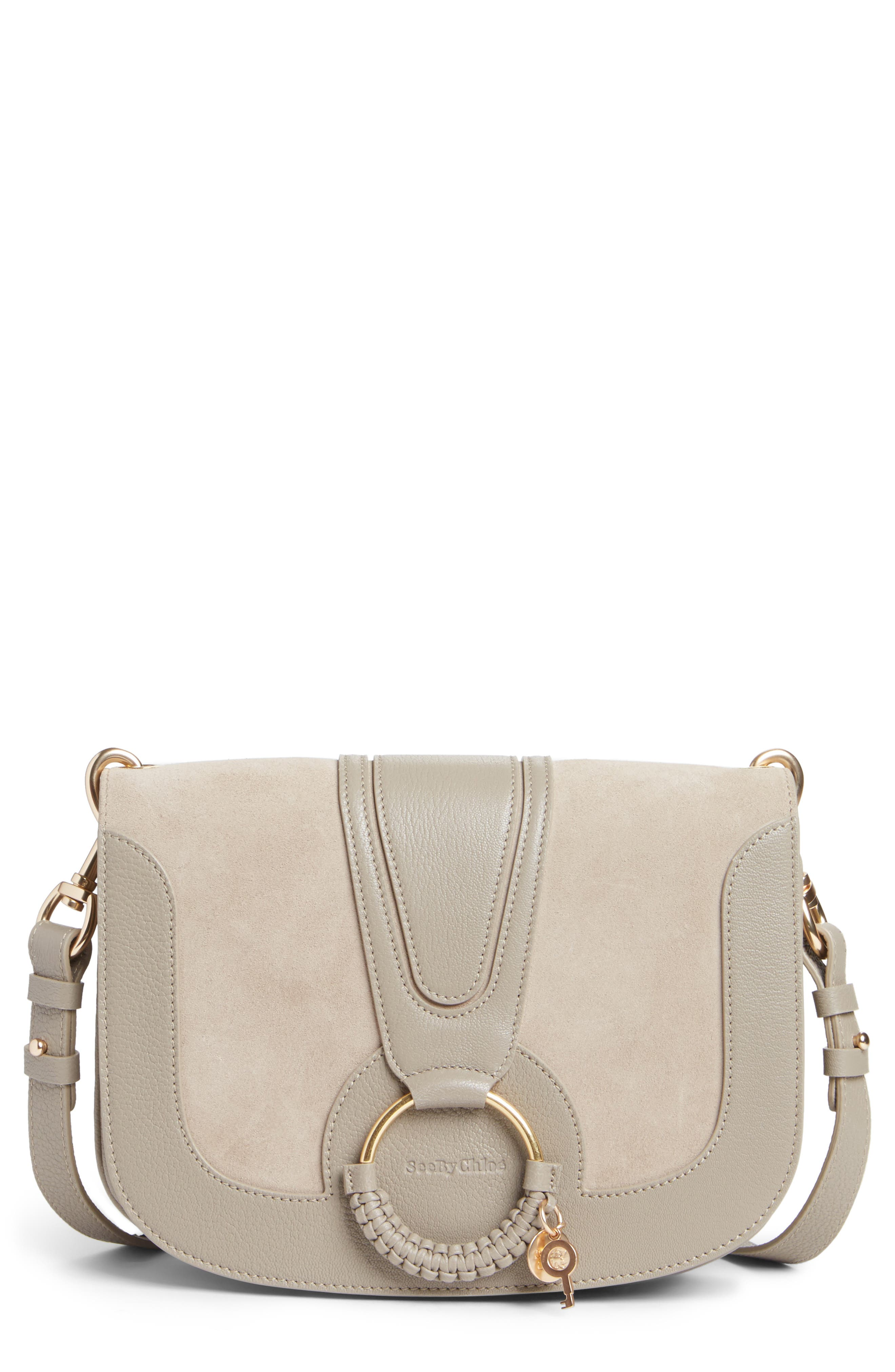 Medium Hana Leather Satchel,                         Main,                         color, 032