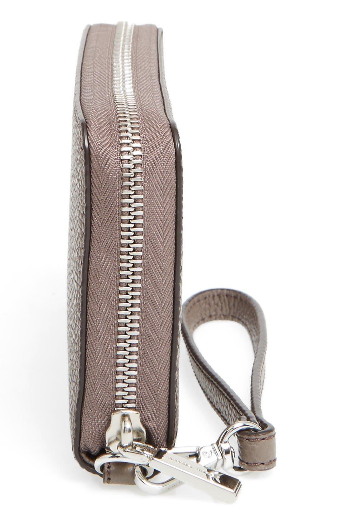 Mercer Large Leather Wristlet,                             Alternate thumbnail 19, color,