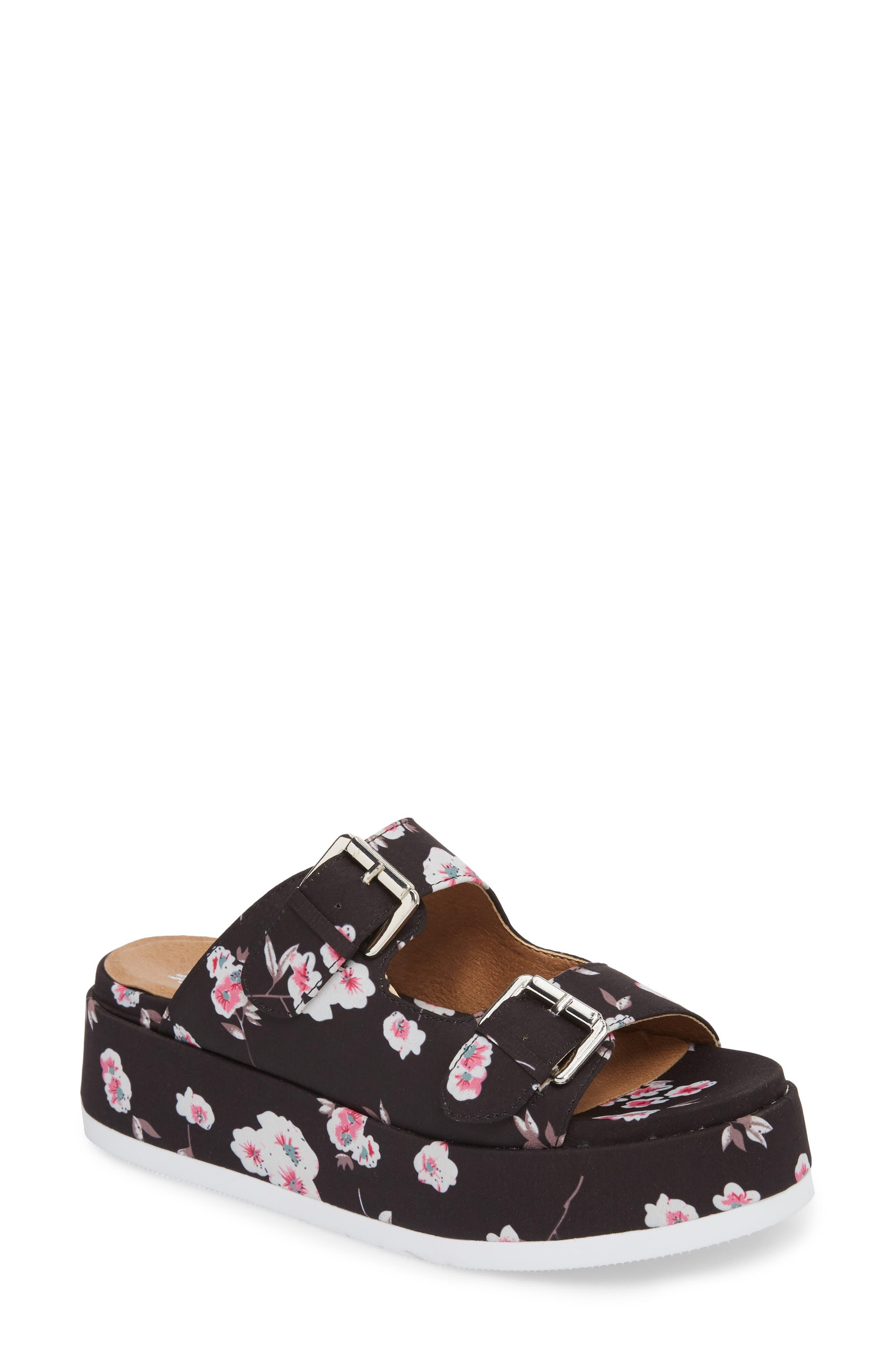 Jordan Two-Buckle Slide Sandal,                         Main,                         color, 001