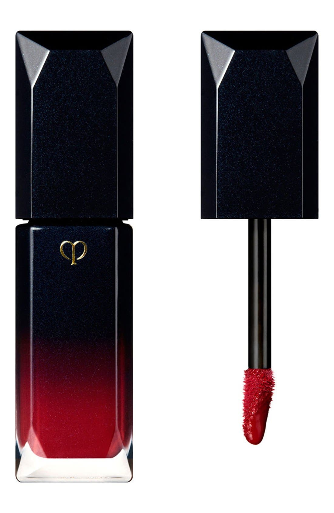 Radiant Liquid Rouge Lip Lacquer,                             Main thumbnail 1, color,                             18 RUBY RED
