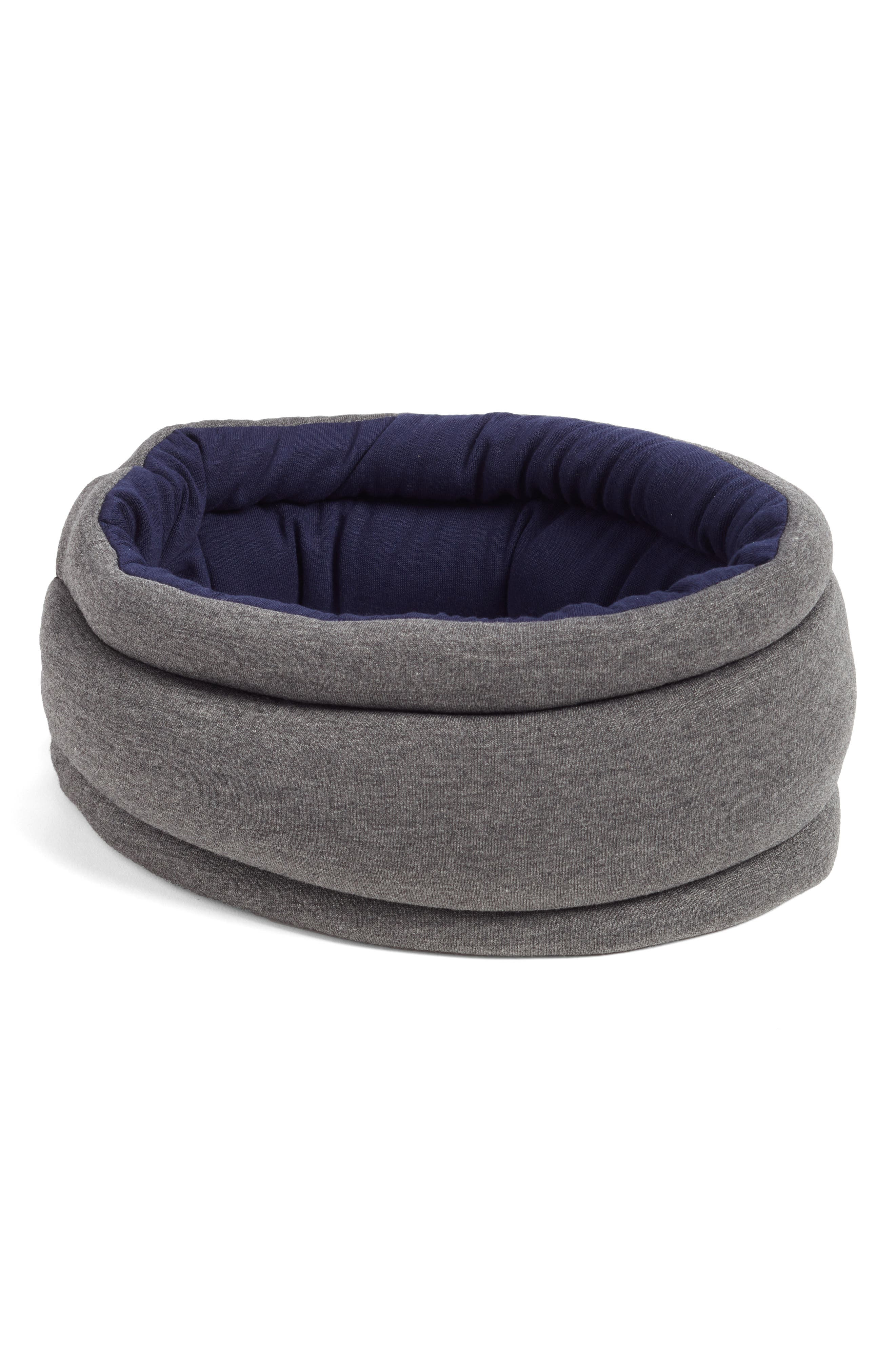 OSTRICHPILLOW<sup>®</sup> Light Reversible Travel Pillow,                             Alternate thumbnail 2, color,                             MOONLIGHT BLUE
