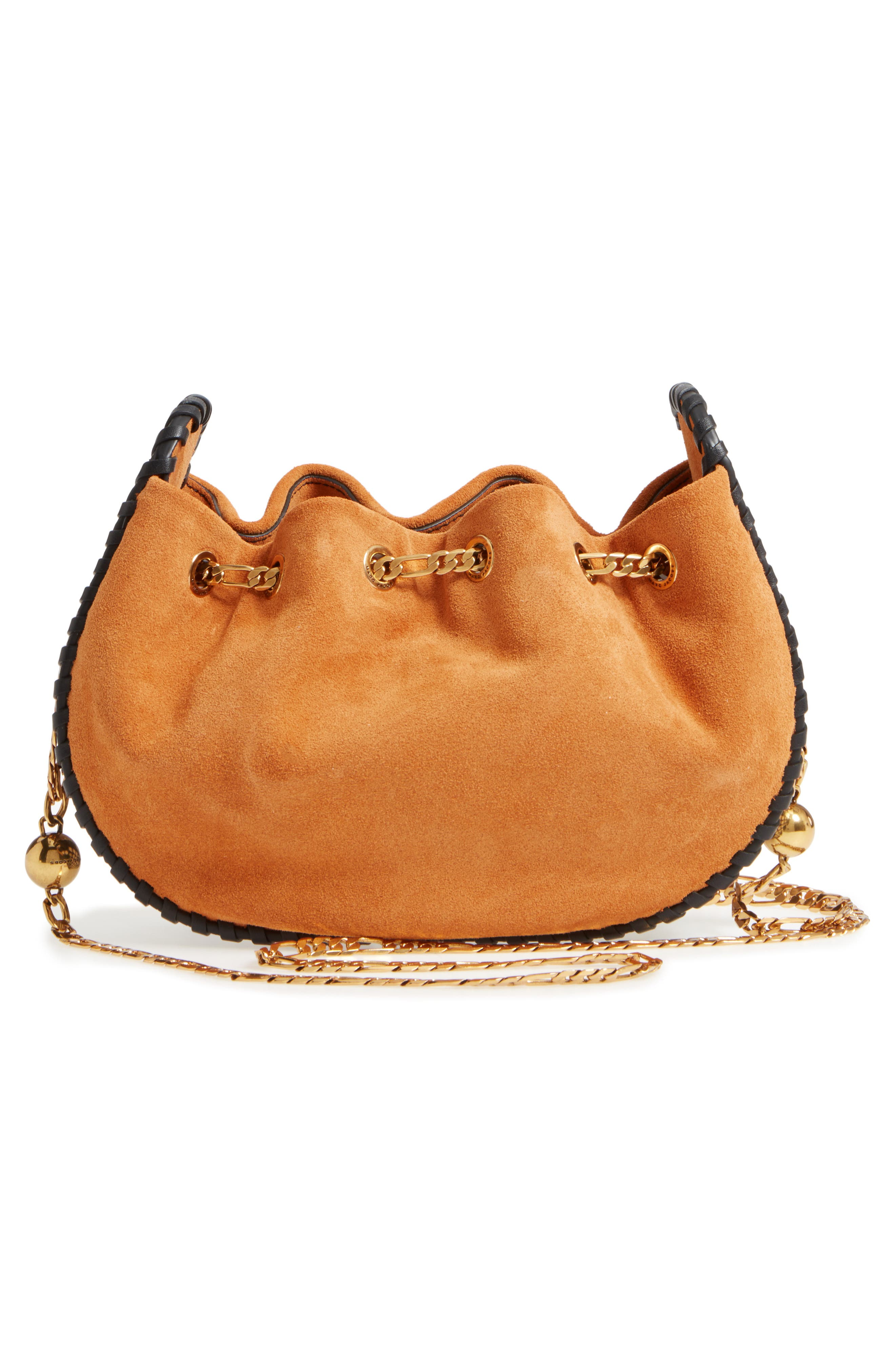 Sway Party Suede Crossbody Bag,                             Alternate thumbnail 3, color,                             276
