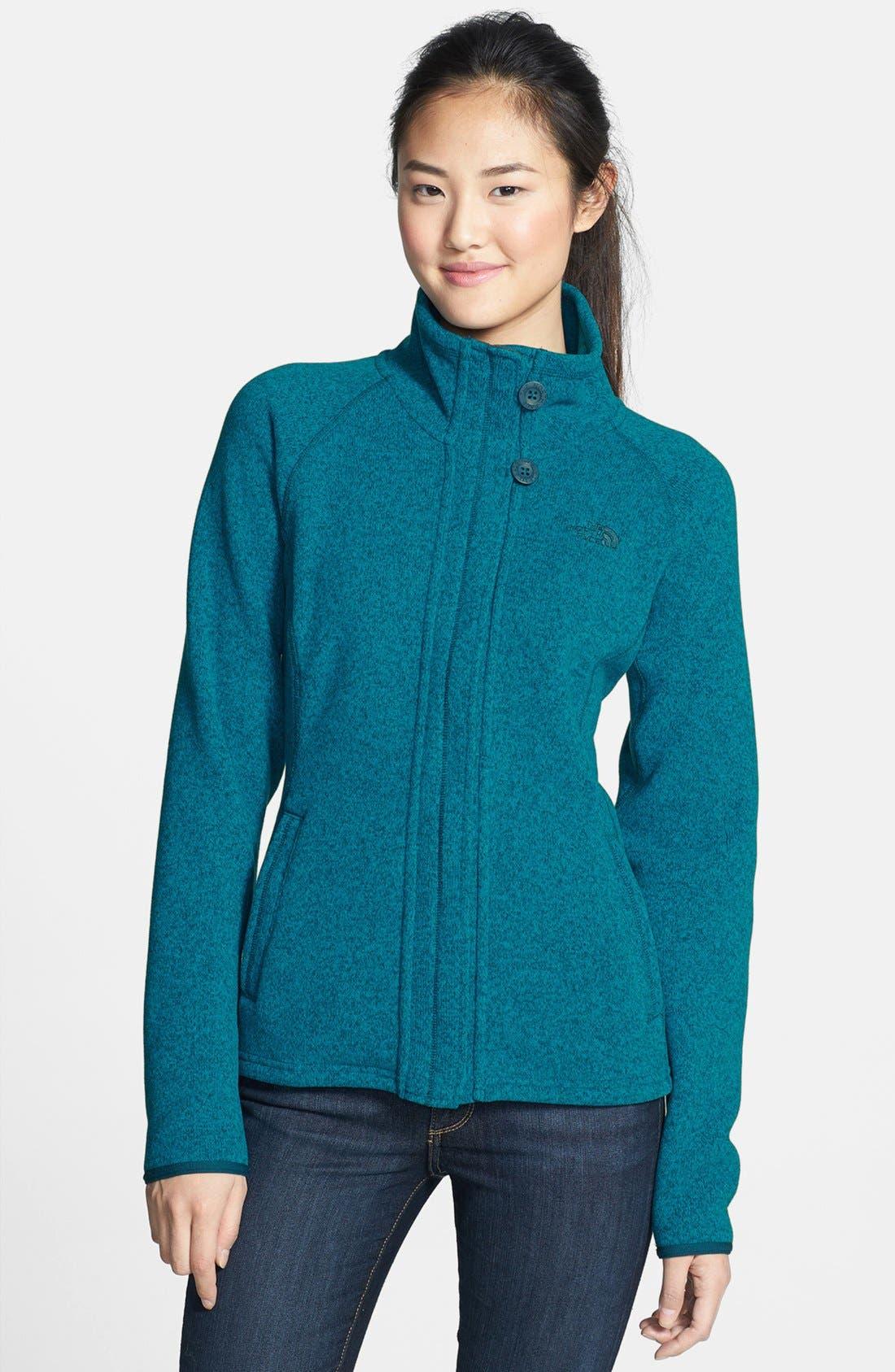 'Crescent' Full Zip Jacket,                             Main thumbnail 5, color,