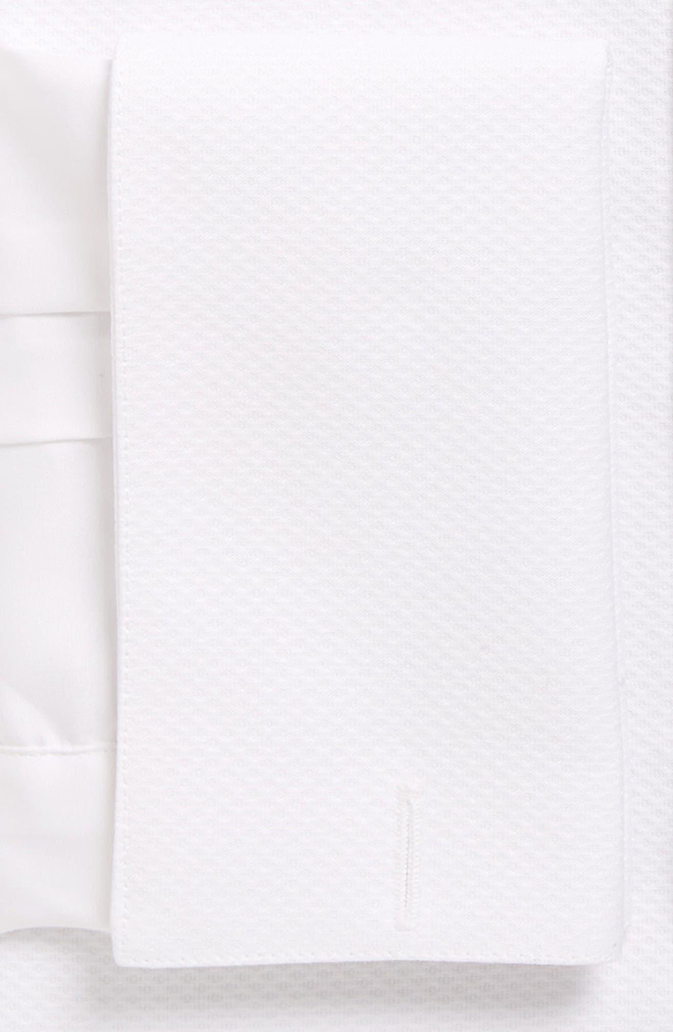 Bib Front Tuxedo Shirt,                             Alternate thumbnail 4, color,                             110