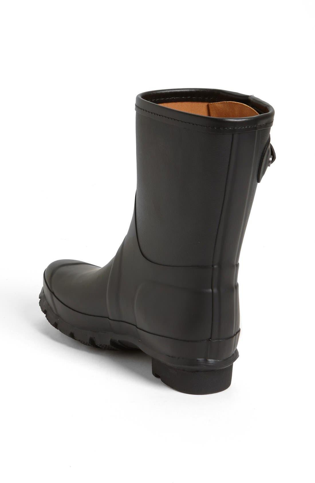 for rag & bone Short Rain Boot,                             Alternate thumbnail 2, color,                             001