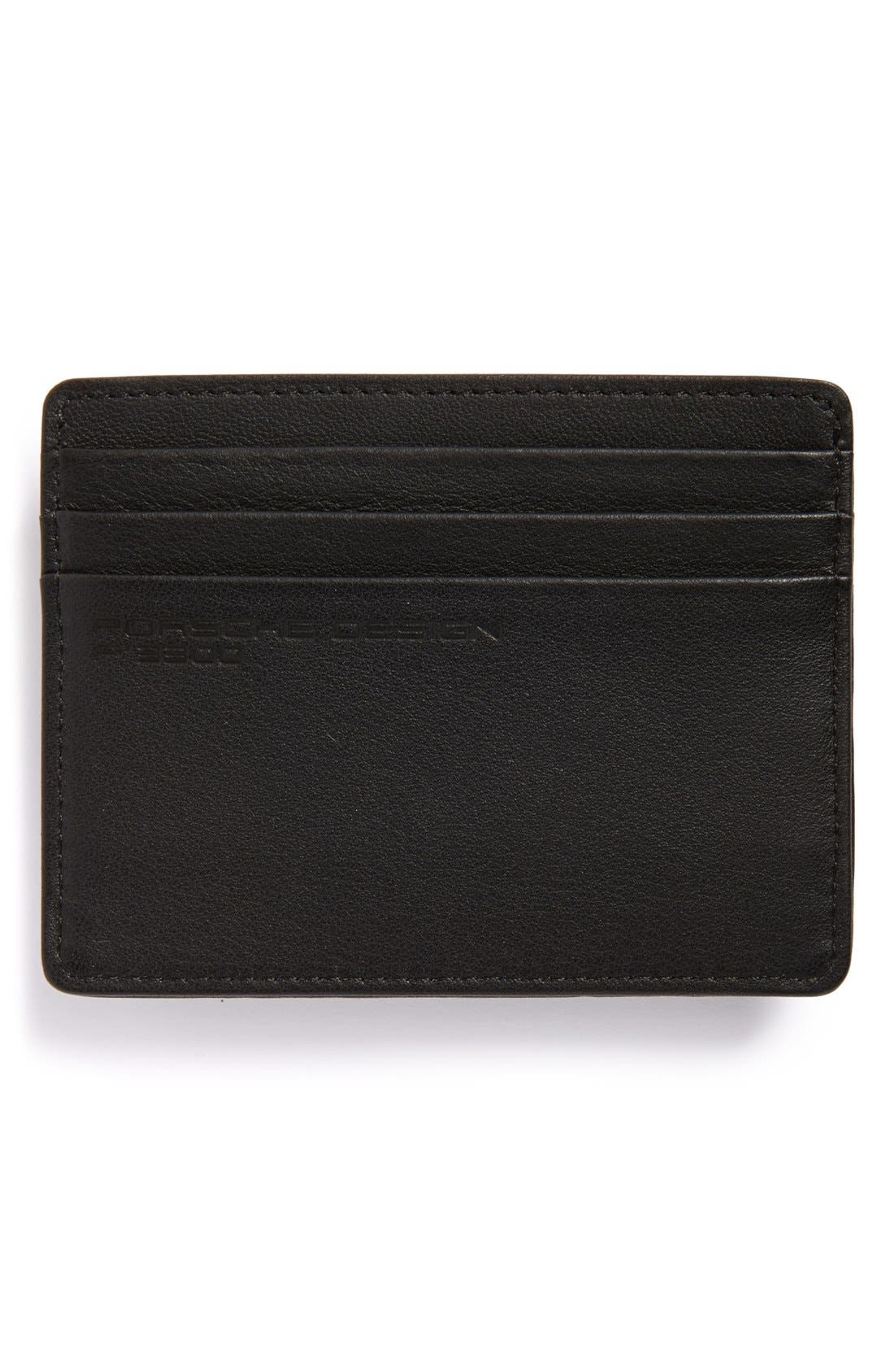 Leather Cardholder,                             Alternate thumbnail 2, color,                             001