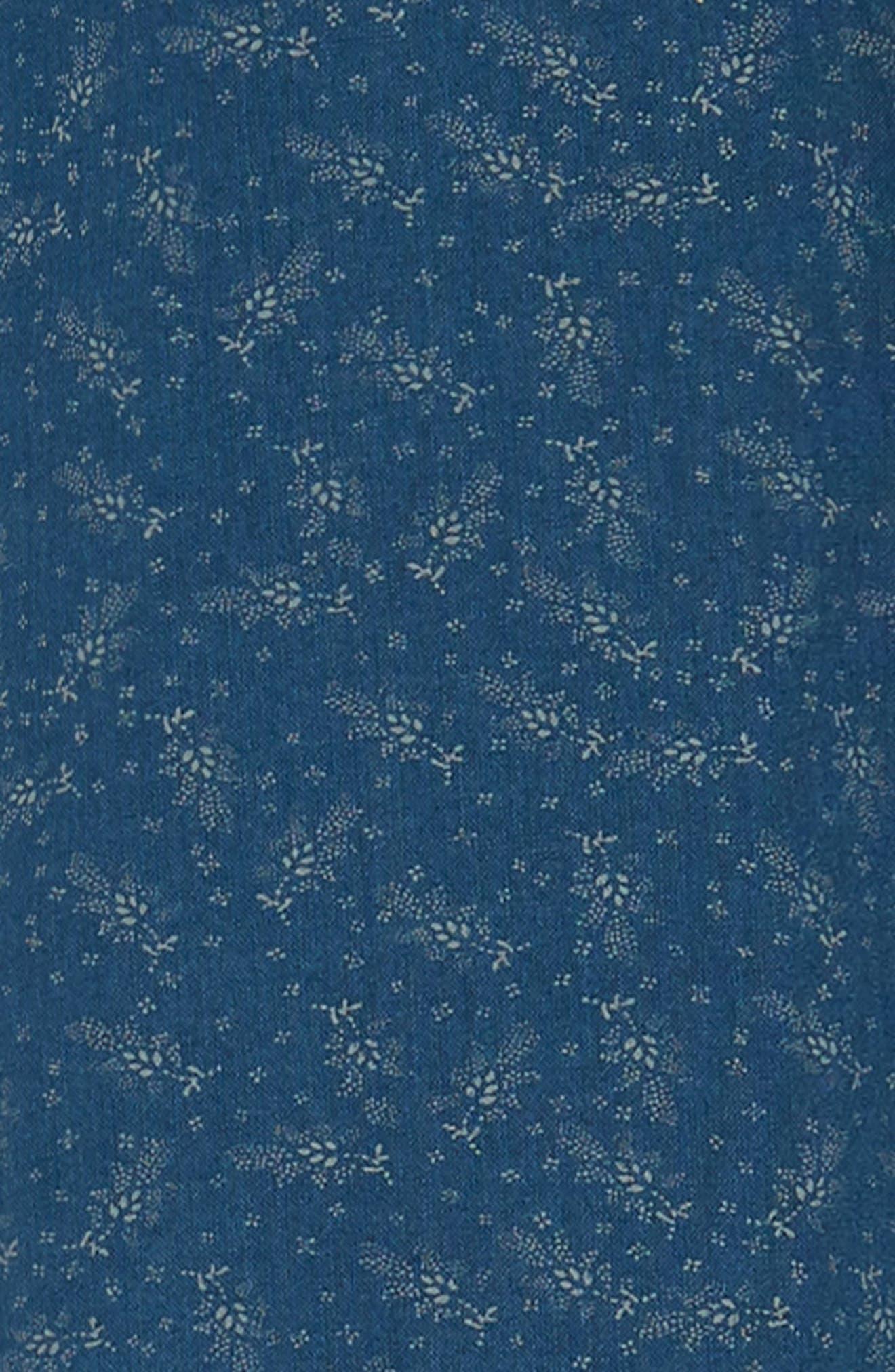 Carson Regular Fit Floral Print Sport Shirt,                             Alternate thumbnail 6, color,                             BISBEE PRINT
