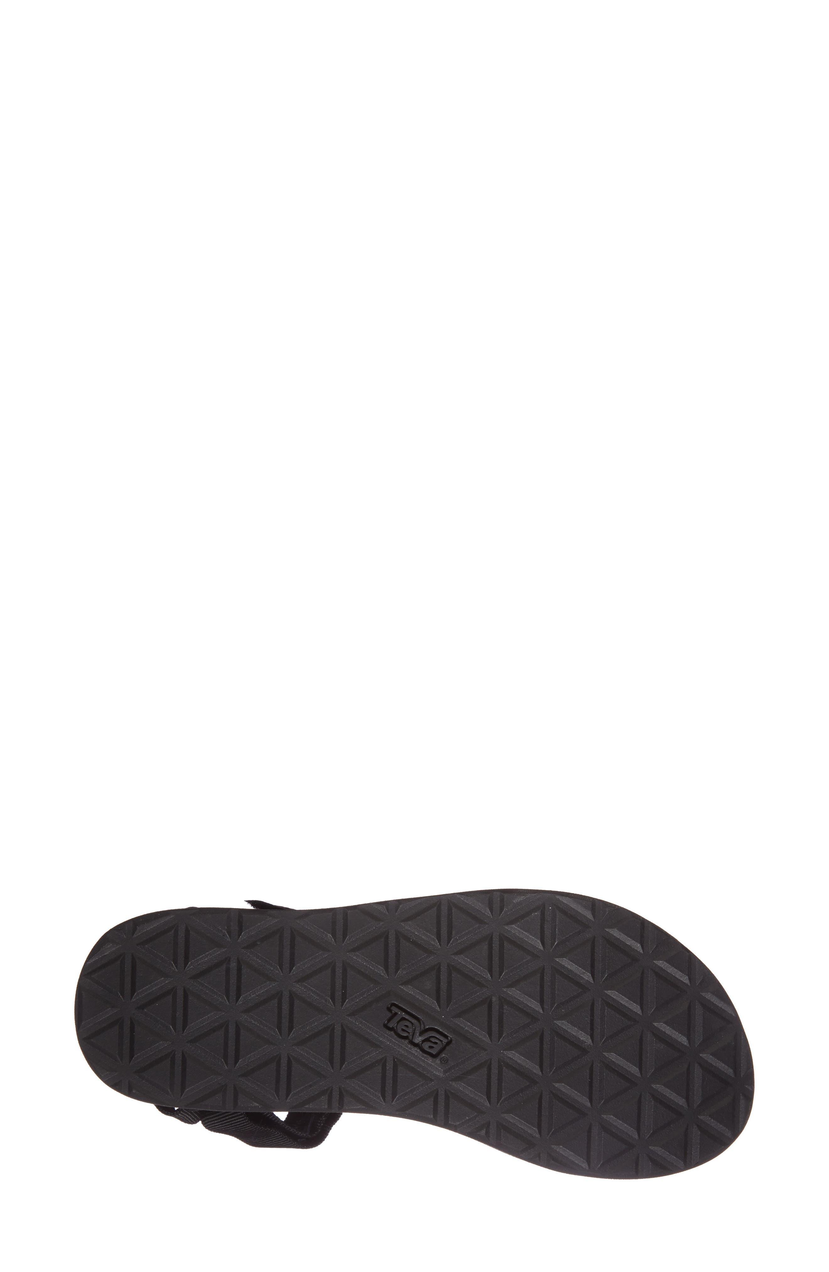 'Universal' Flatform Sandal,                             Alternate thumbnail 4, color,                             001