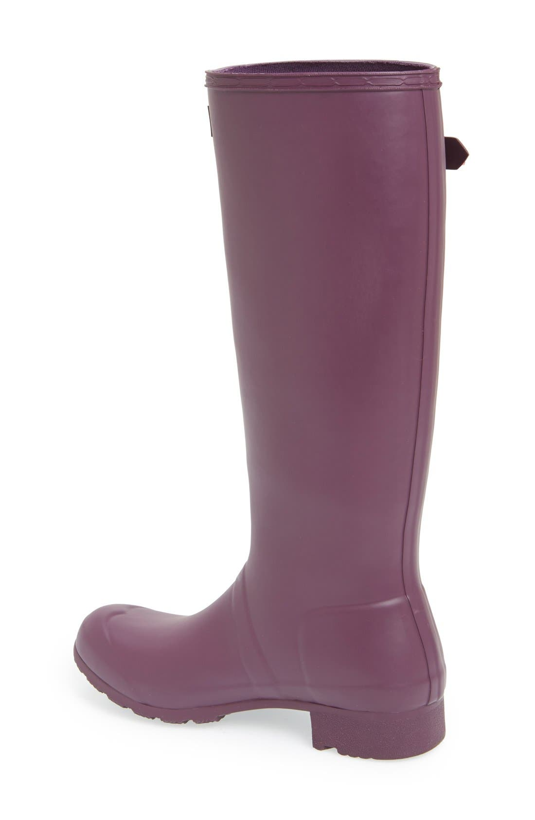 'Tour' Packable Rain Boot,                             Alternate thumbnail 70, color,