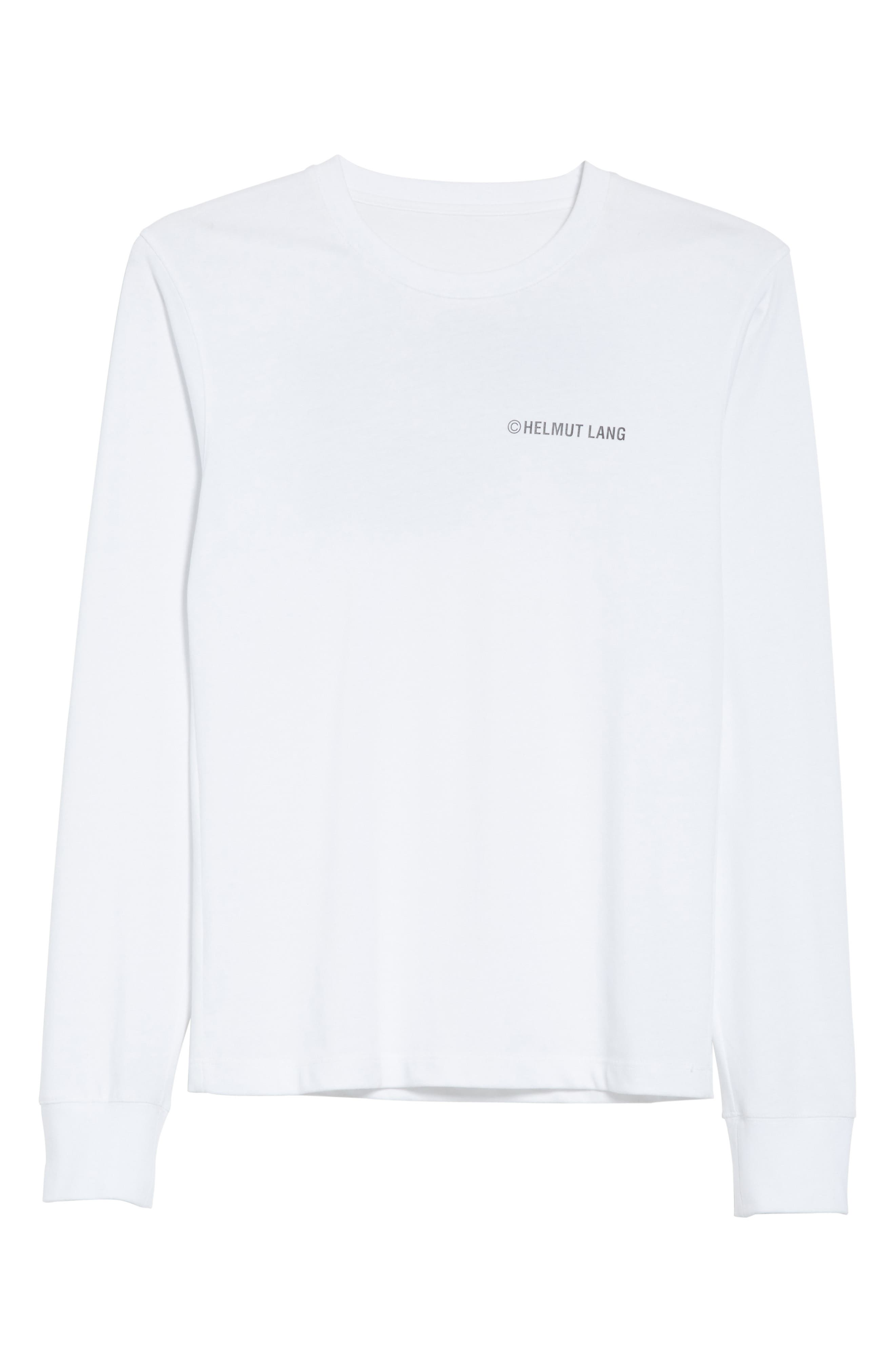 Taxi Long Sleeve Tee,                             Alternate thumbnail 6, color,                             100