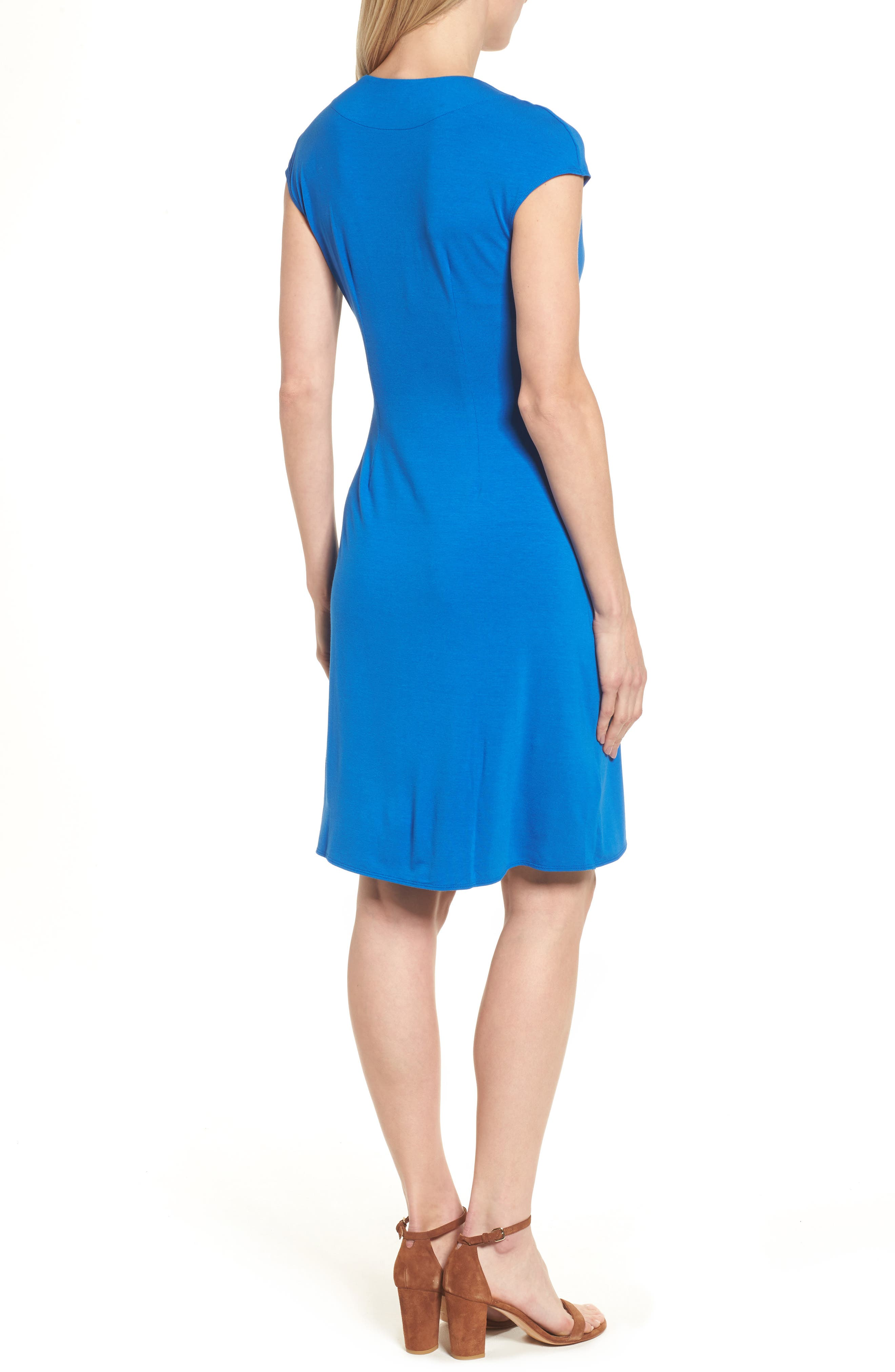 'Tambour' Side Gathered Dress,                             Alternate thumbnail 11, color,
