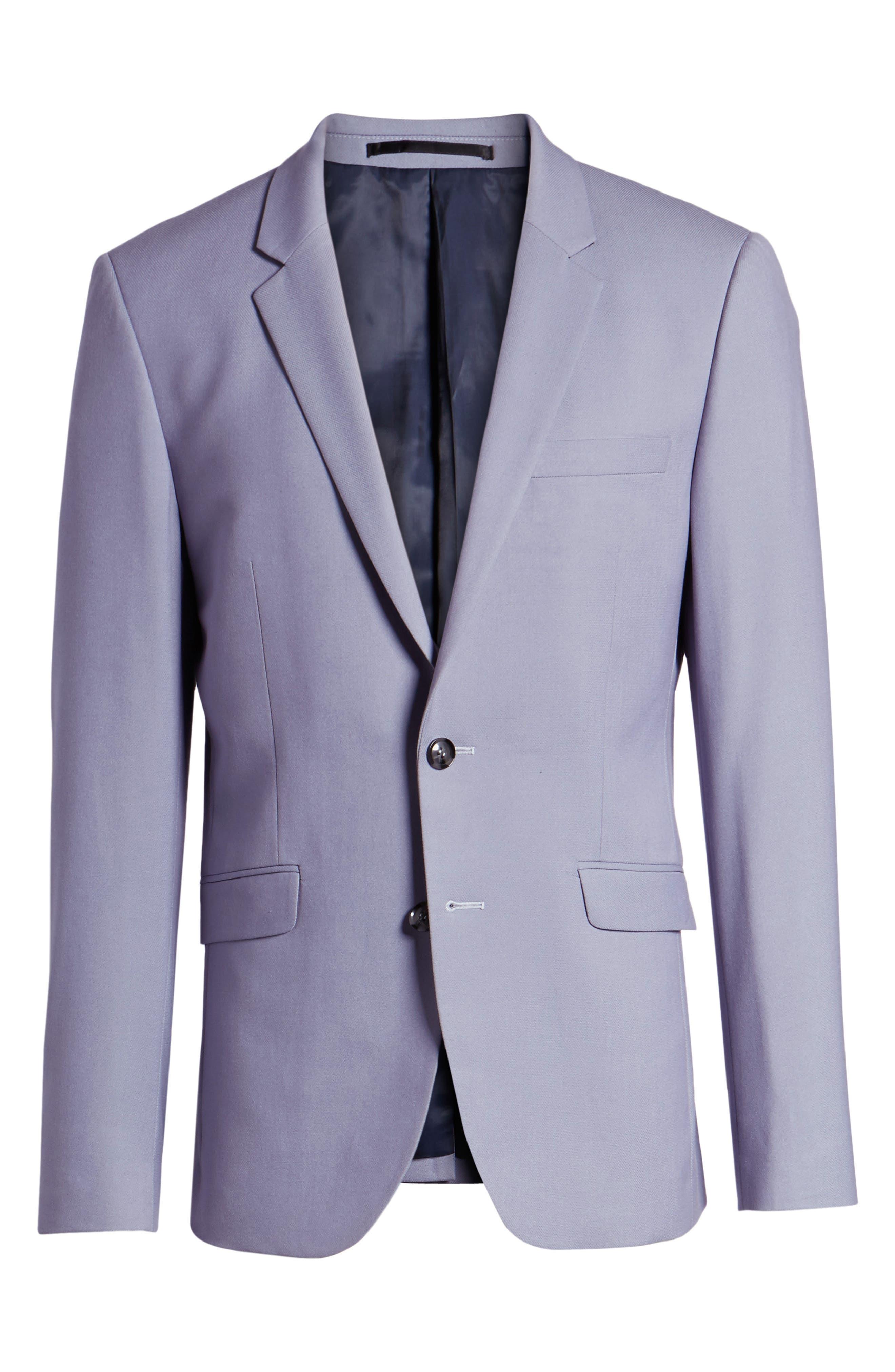 Skinny Fit Suit Jacket,                             Alternate thumbnail 10, color,