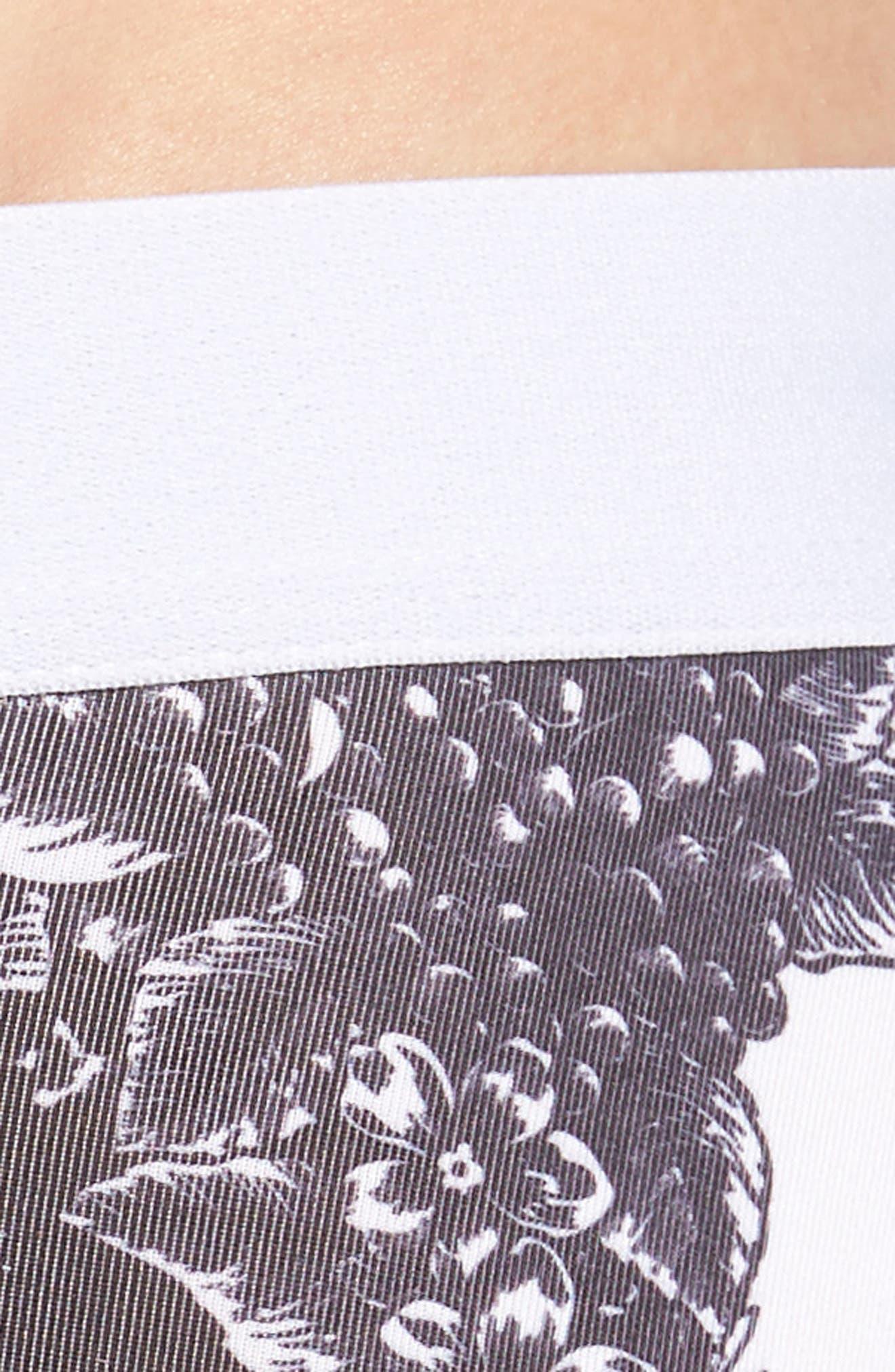 Lace Skull Stretch Boxer Briefs,                             Alternate thumbnail 4, color,                             100