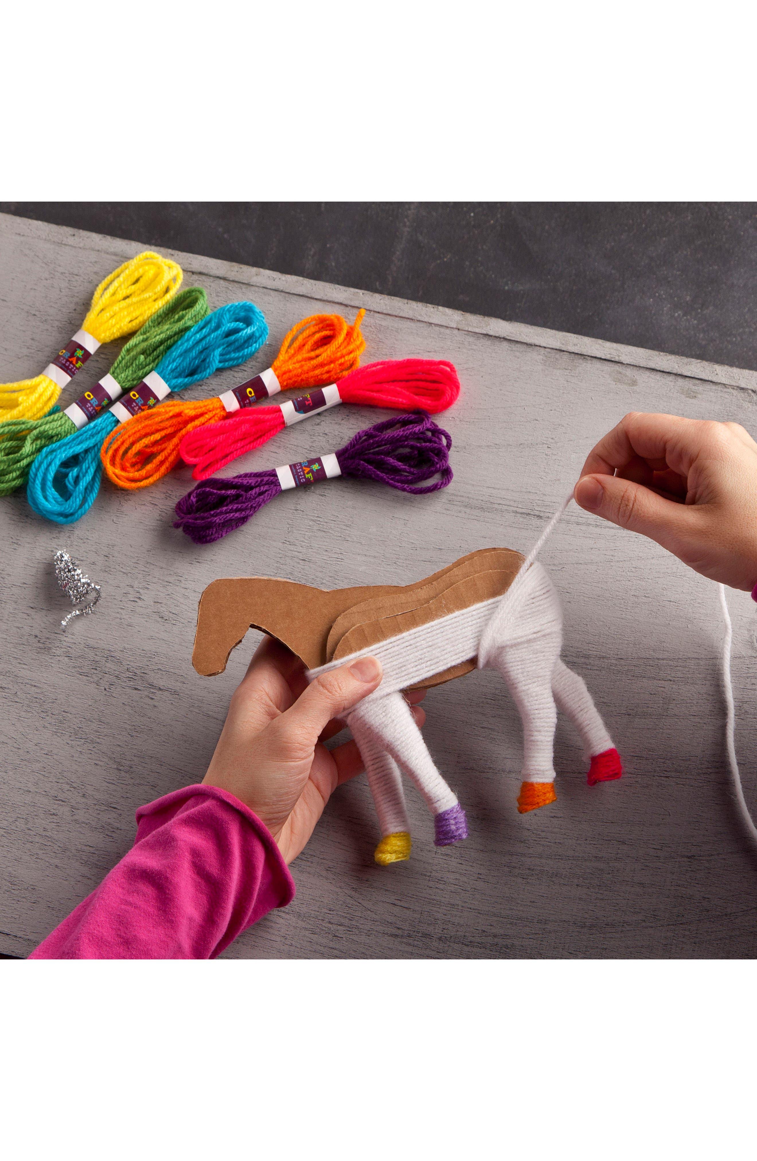 Yarn Unicorns Kit,                             Alternate thumbnail 3, color,                             500