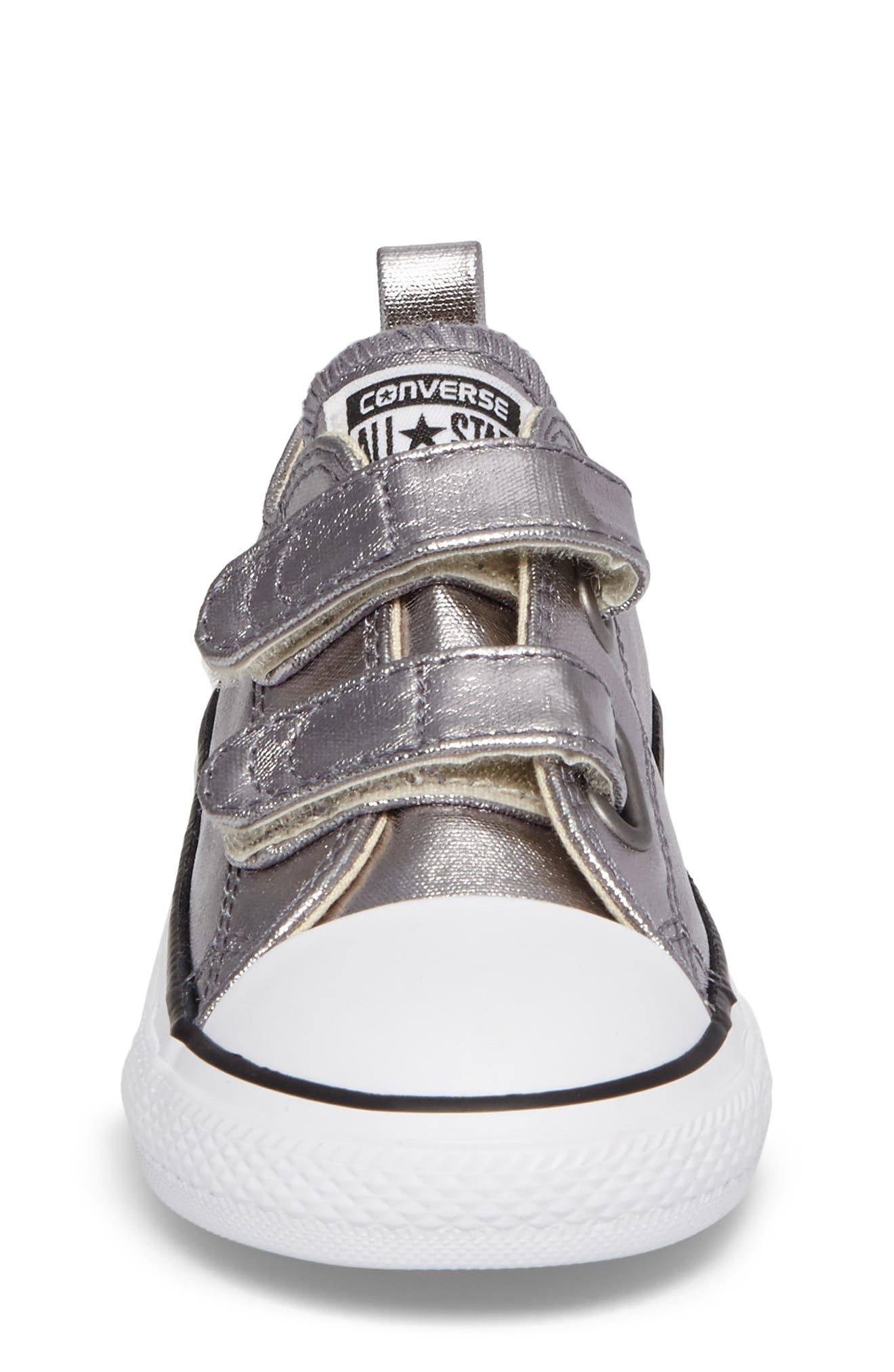 Chuck Taylor<sup>®</sup> All Star<sup>®</sup> Seasonal Metallic Low Top Sneaker,                             Alternate thumbnail 4, color,                             040