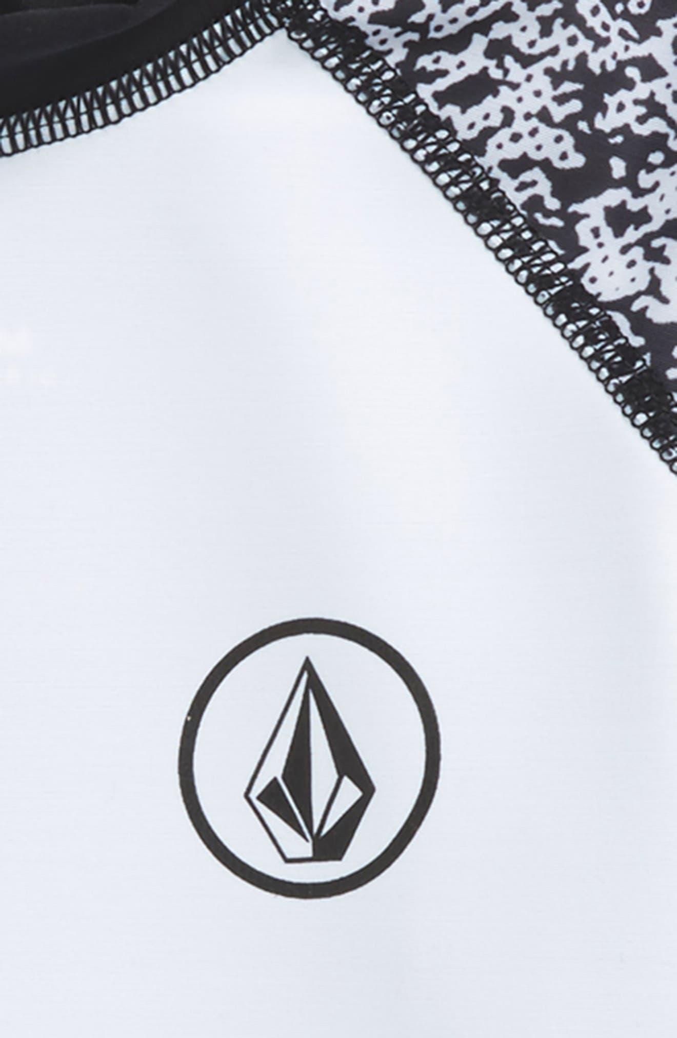 Lido Block Short Sleeve Rashguard,                             Alternate thumbnail 2, color,                             100