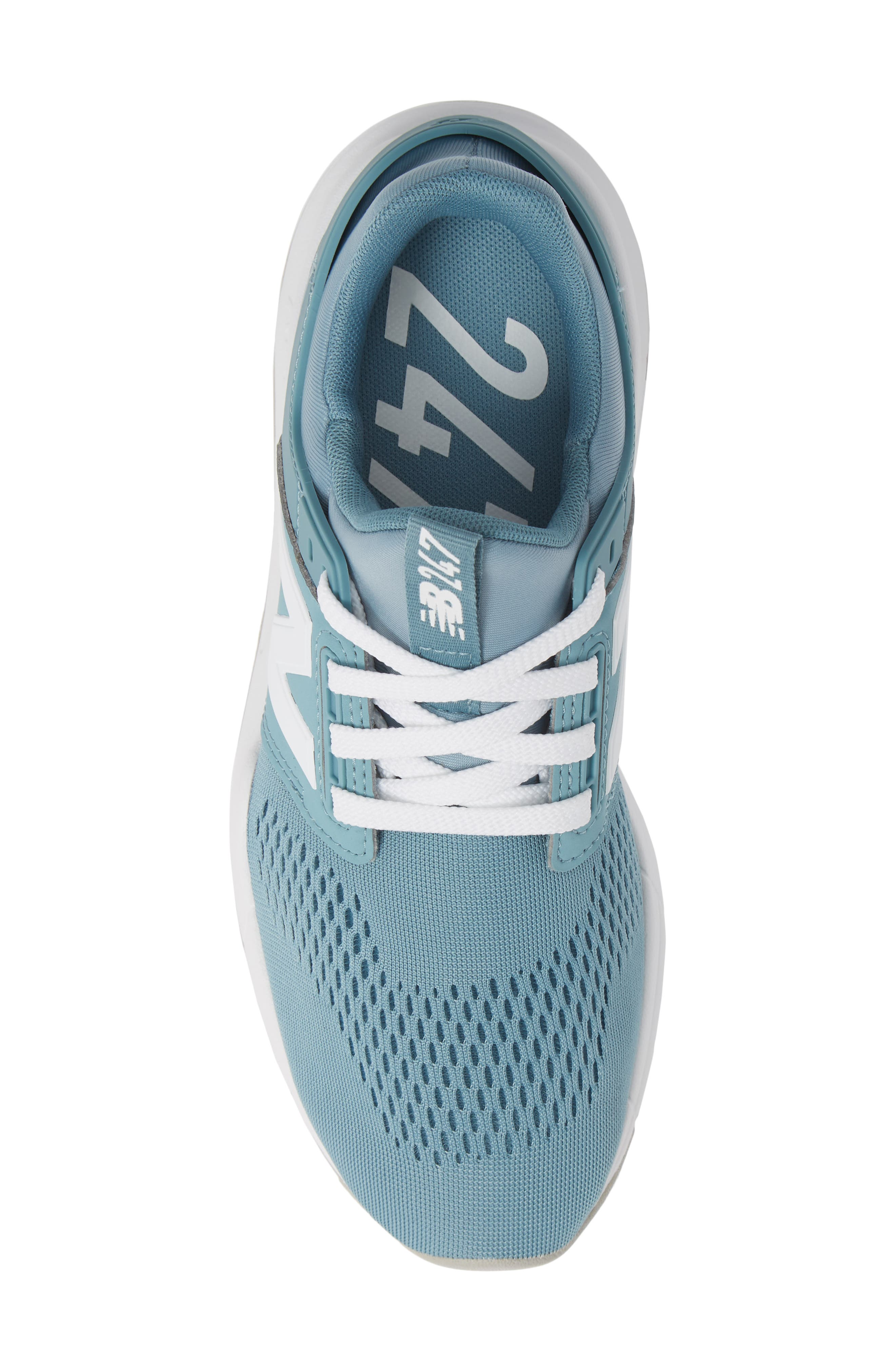 247 Sneaker,                             Alternate thumbnail 5, color,                             SMOKE BLUE