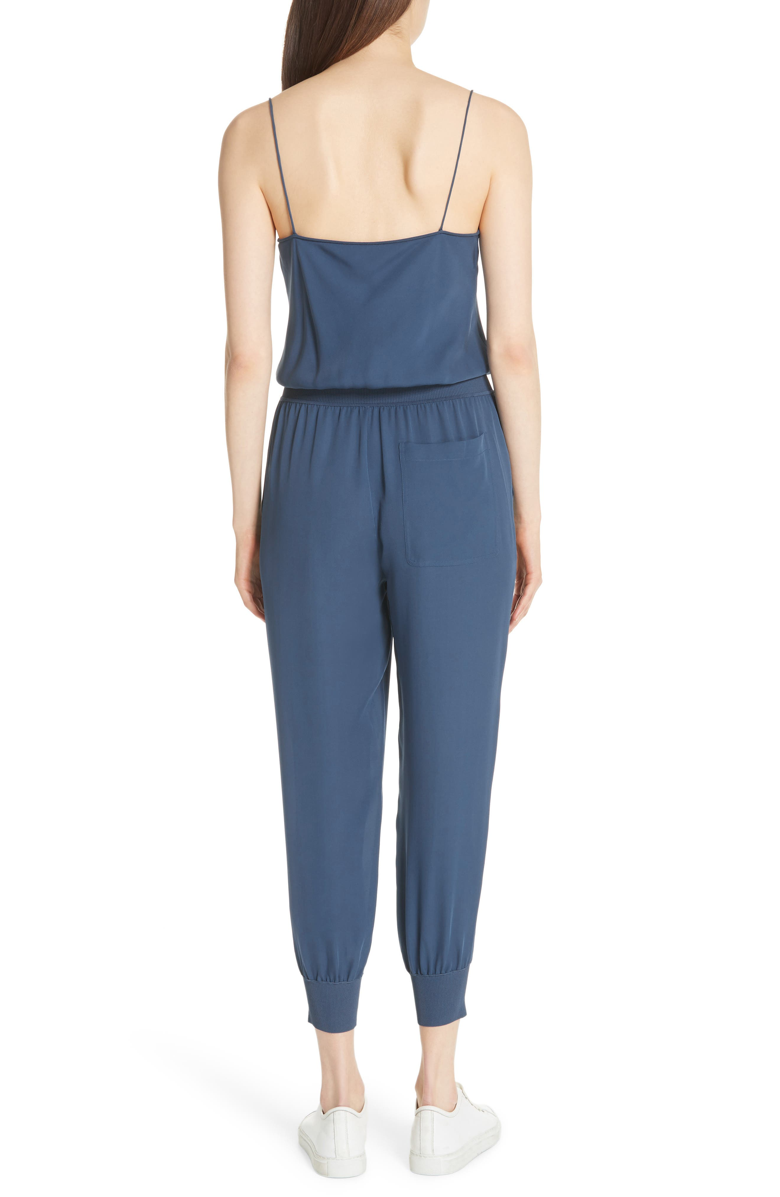 THEORY,                             Silk Romper,                             Alternate thumbnail 2, color,                             457