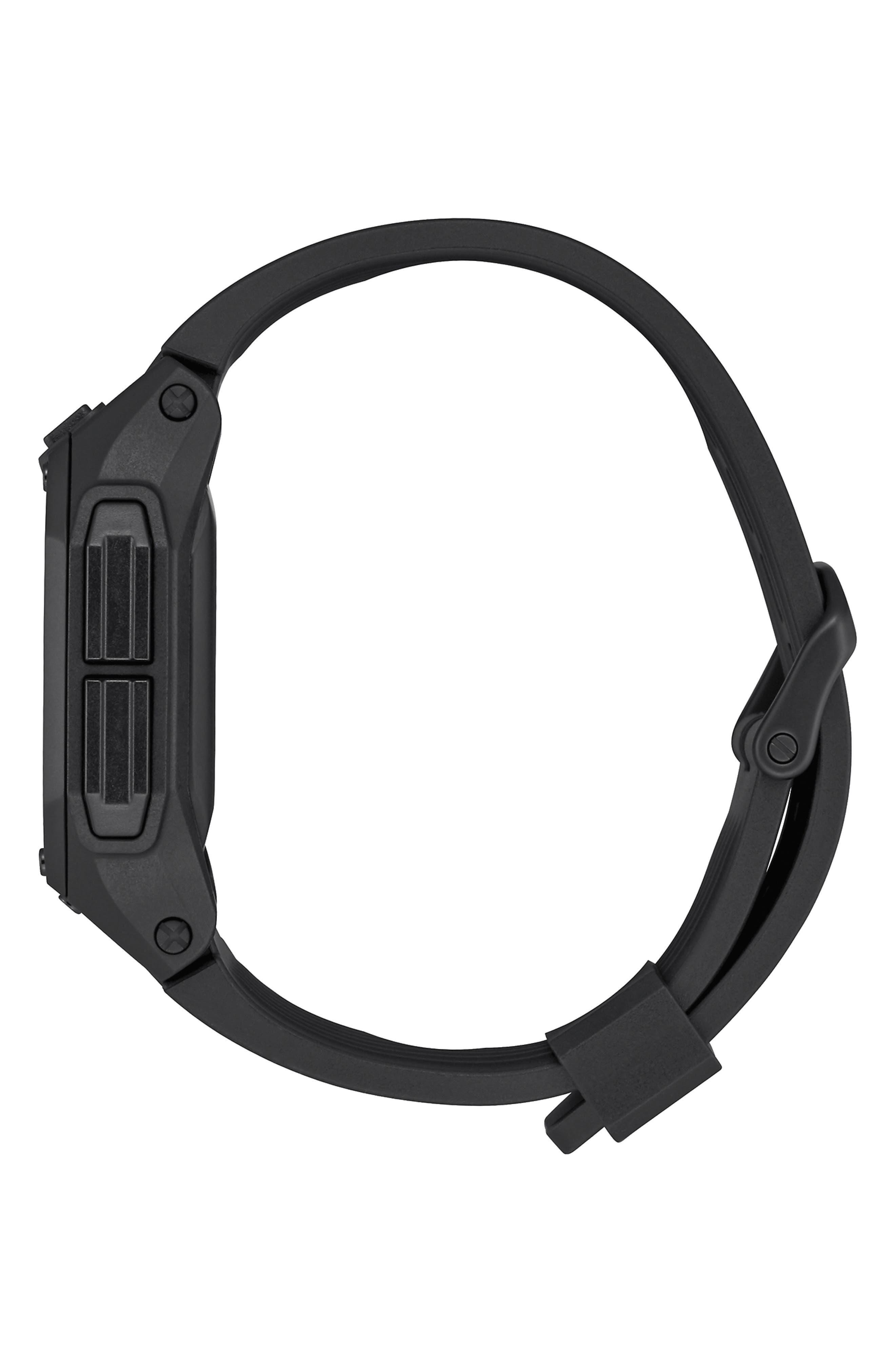 Regulus Digital Watch, 46mm,                             Alternate thumbnail 3, color,                             BLACK