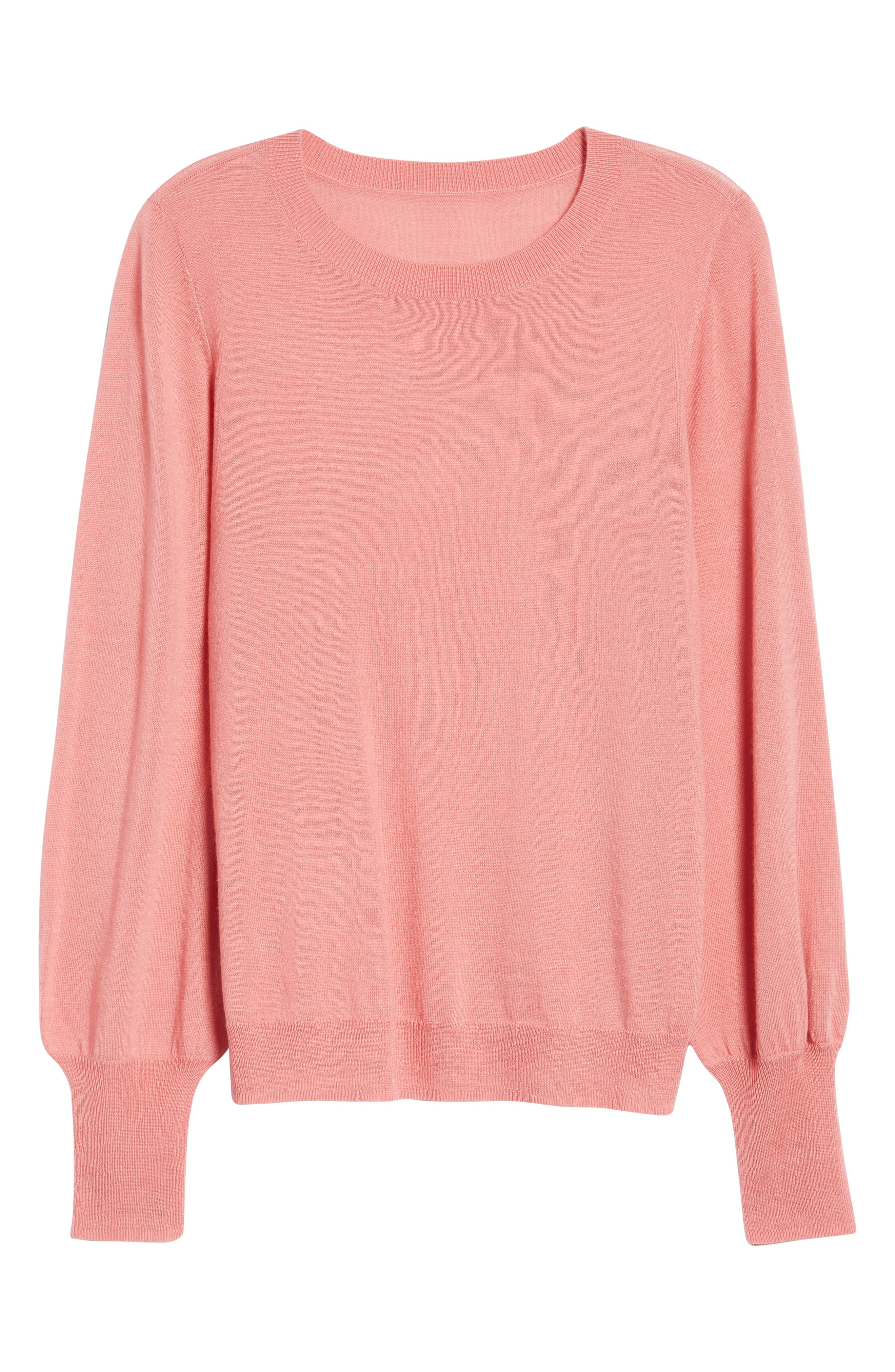 Puff Sleeve Sweater,                             Alternate thumbnail 51, color,