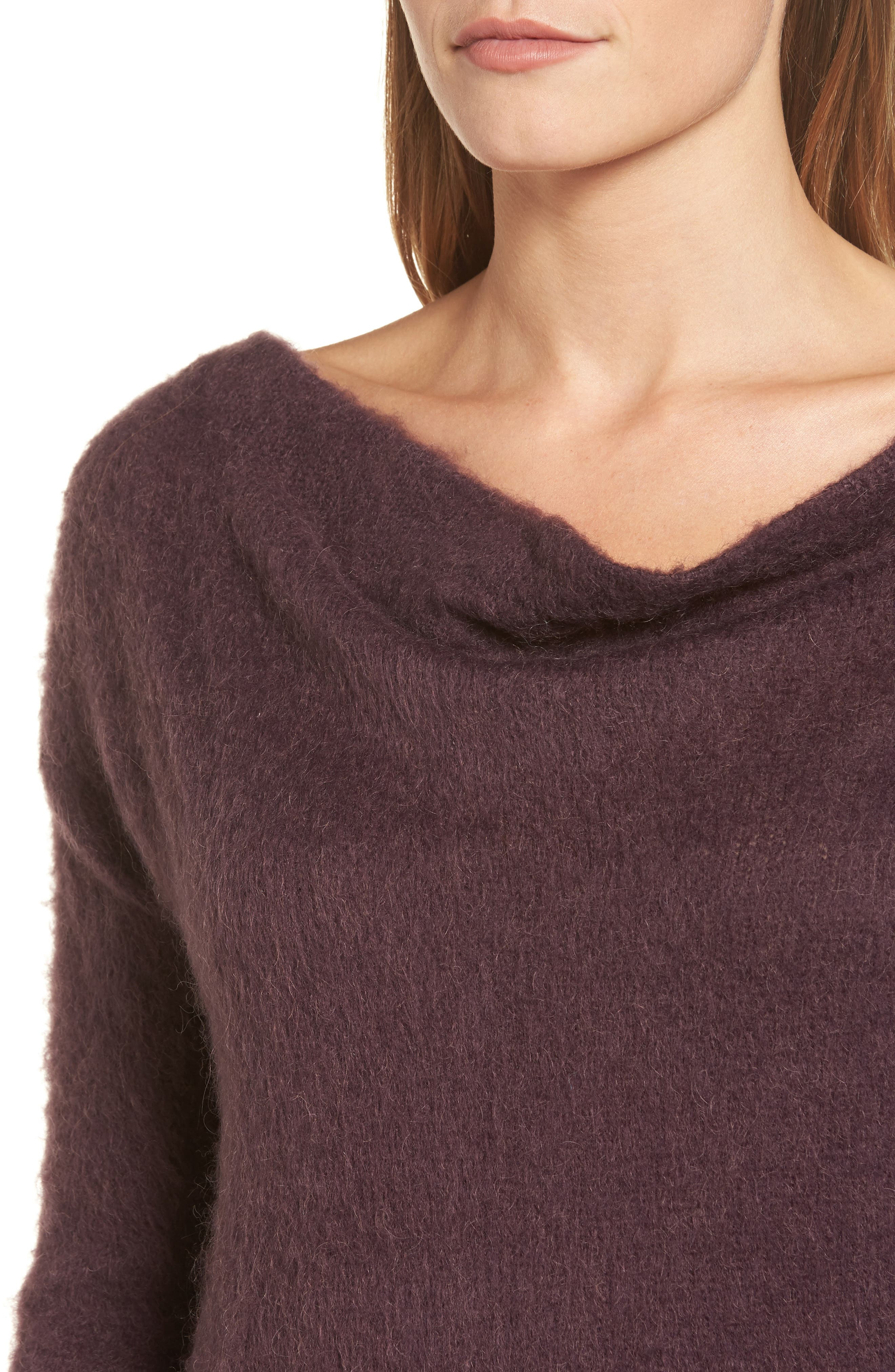 Long Sleeve Brushed Sweater,                             Alternate thumbnail 22, color,