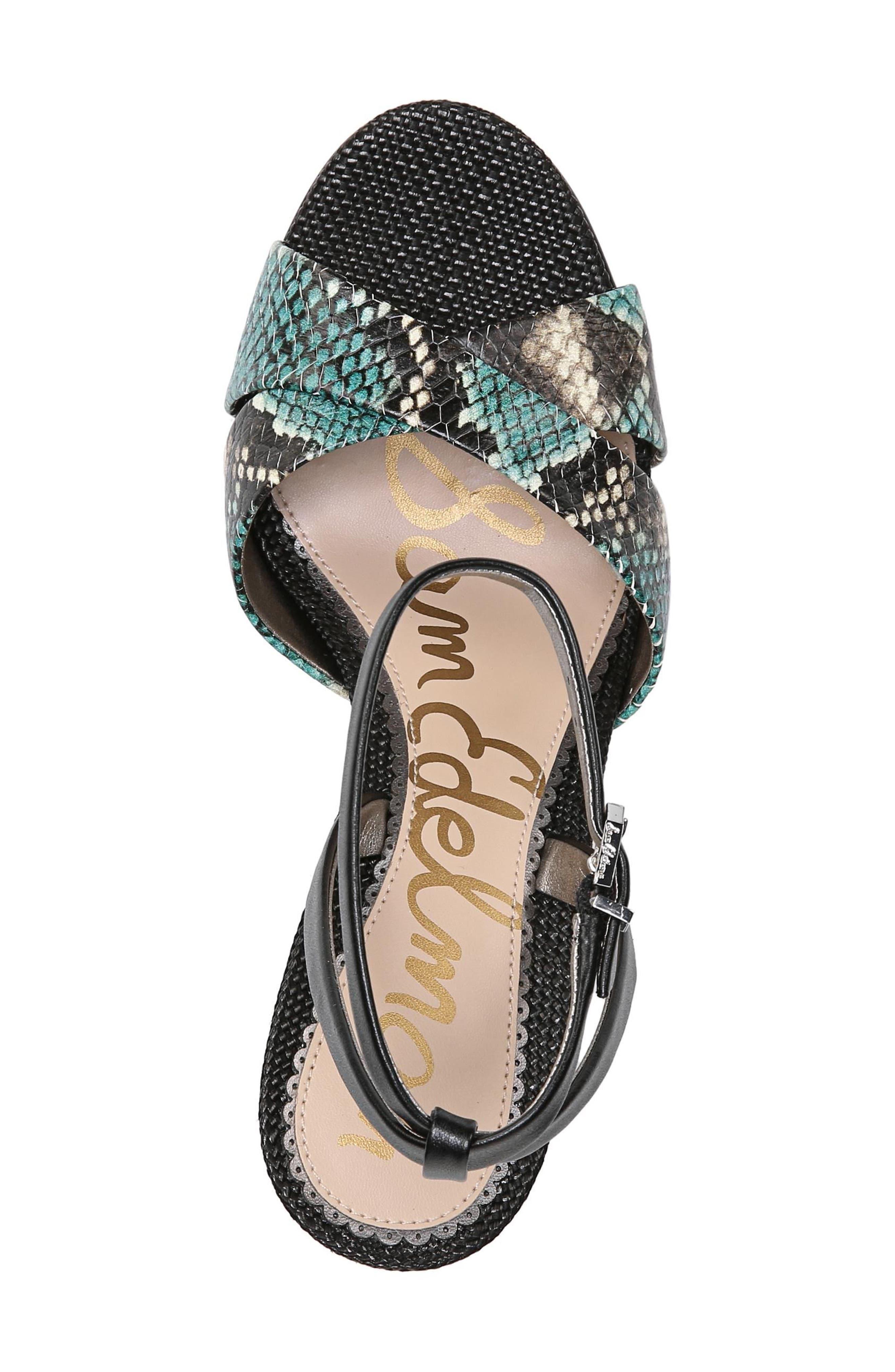 Aly Ankle Strap Sandal,                             Alternate thumbnail 28, color,