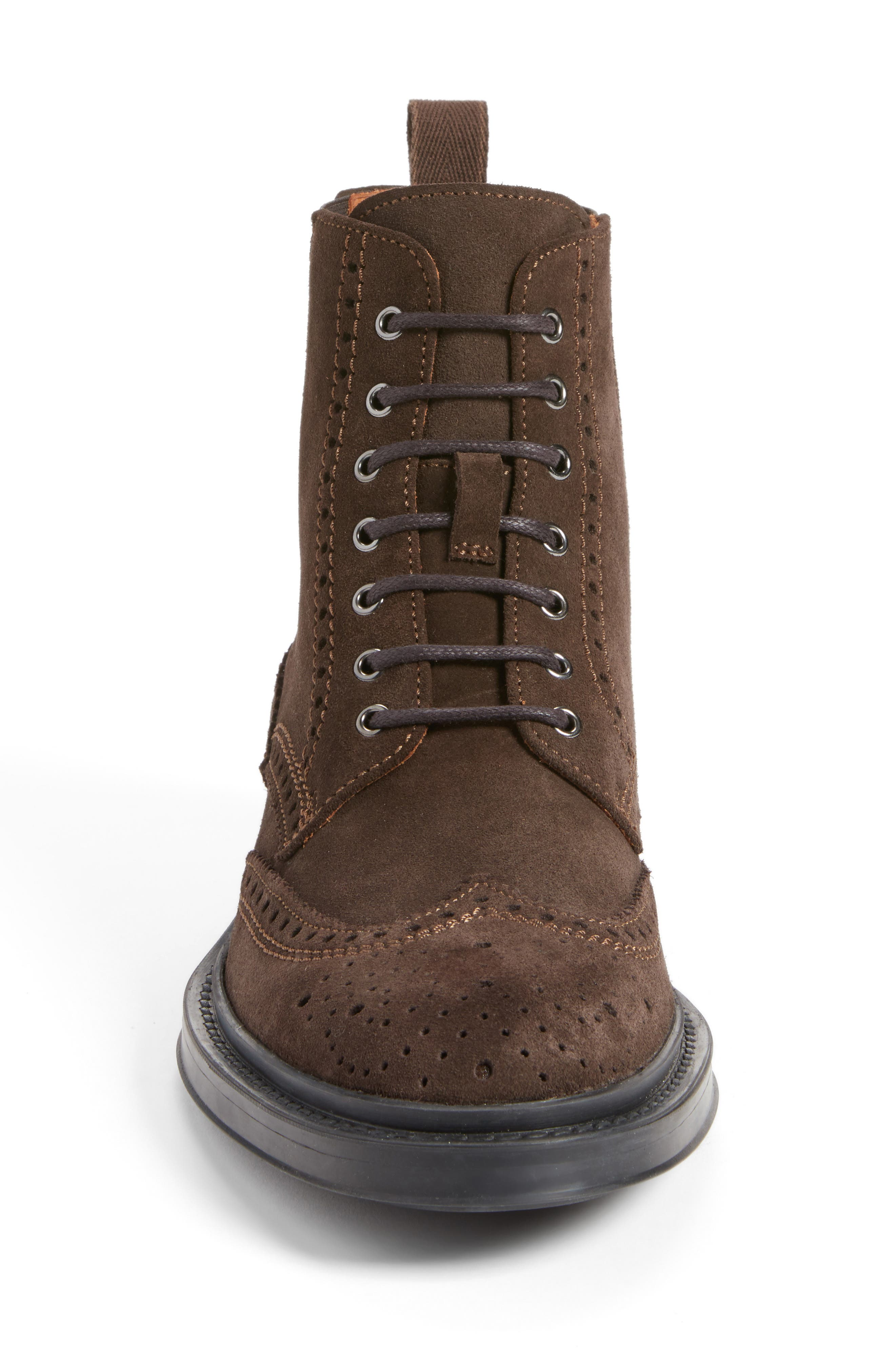 Lawrence Wingtip Boot,                             Alternate thumbnail 4, color,                             201