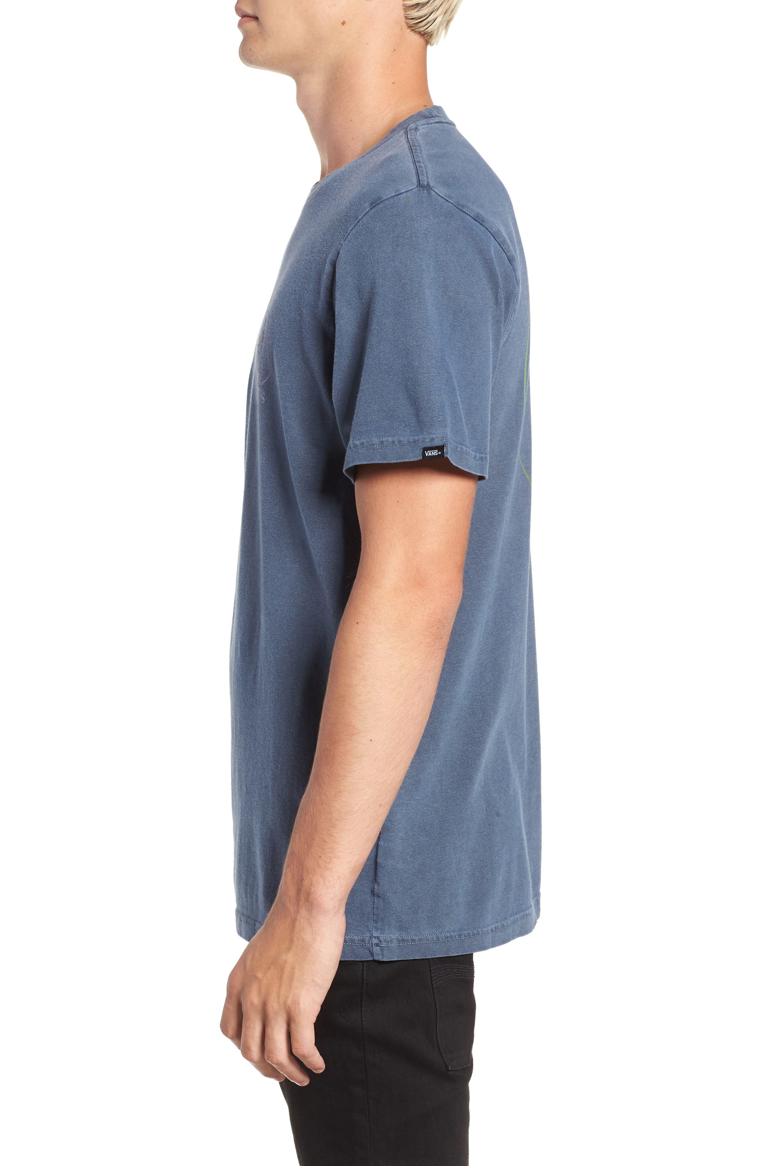 Vintage California Bred Graphic T-Shirt,                             Alternate thumbnail 3, color,                             DRESS BLUES