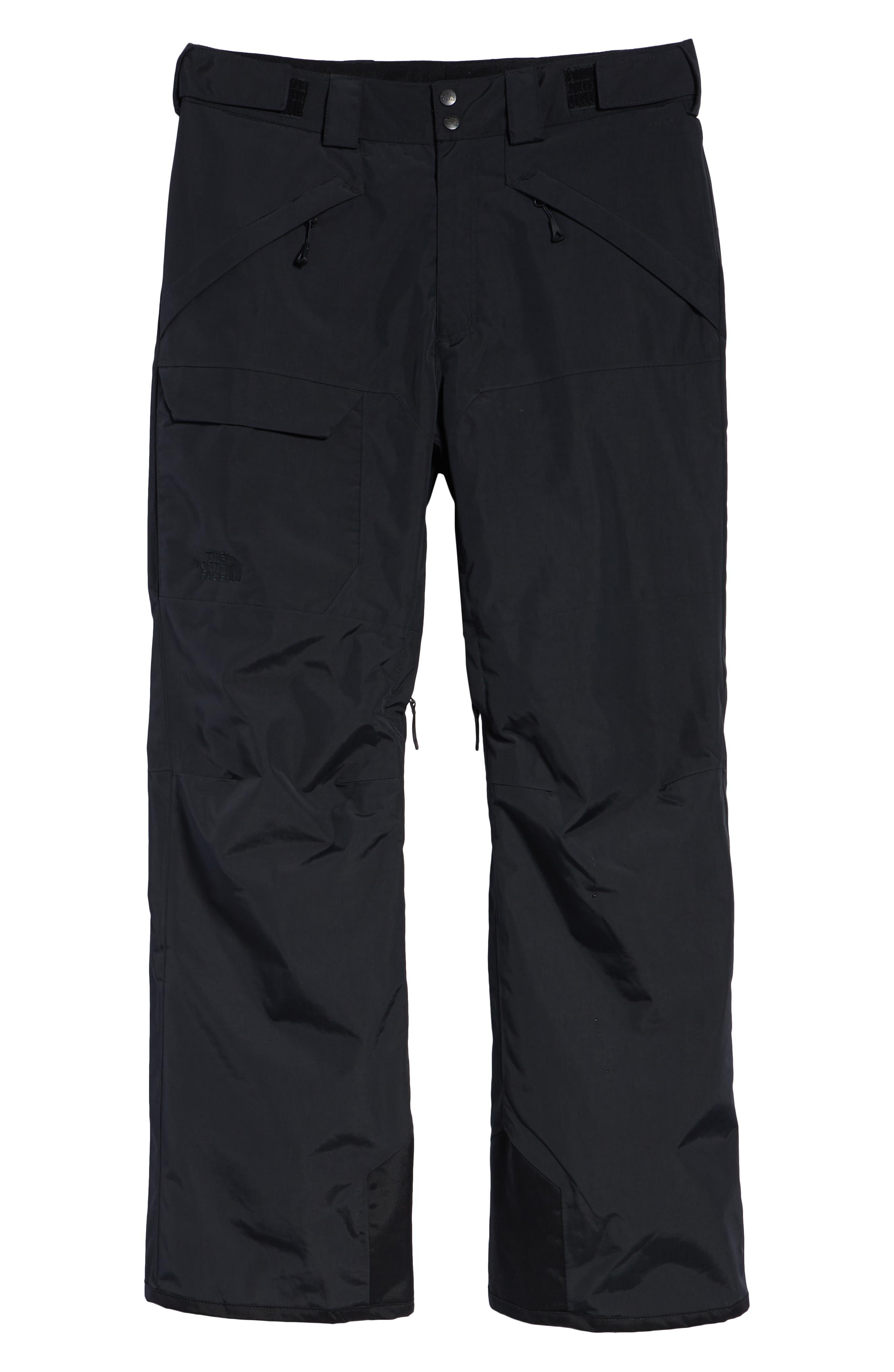 Freedom Heatseeker Insulated Snow Pants,                             Alternate thumbnail 6, color,                             TNF BLACK