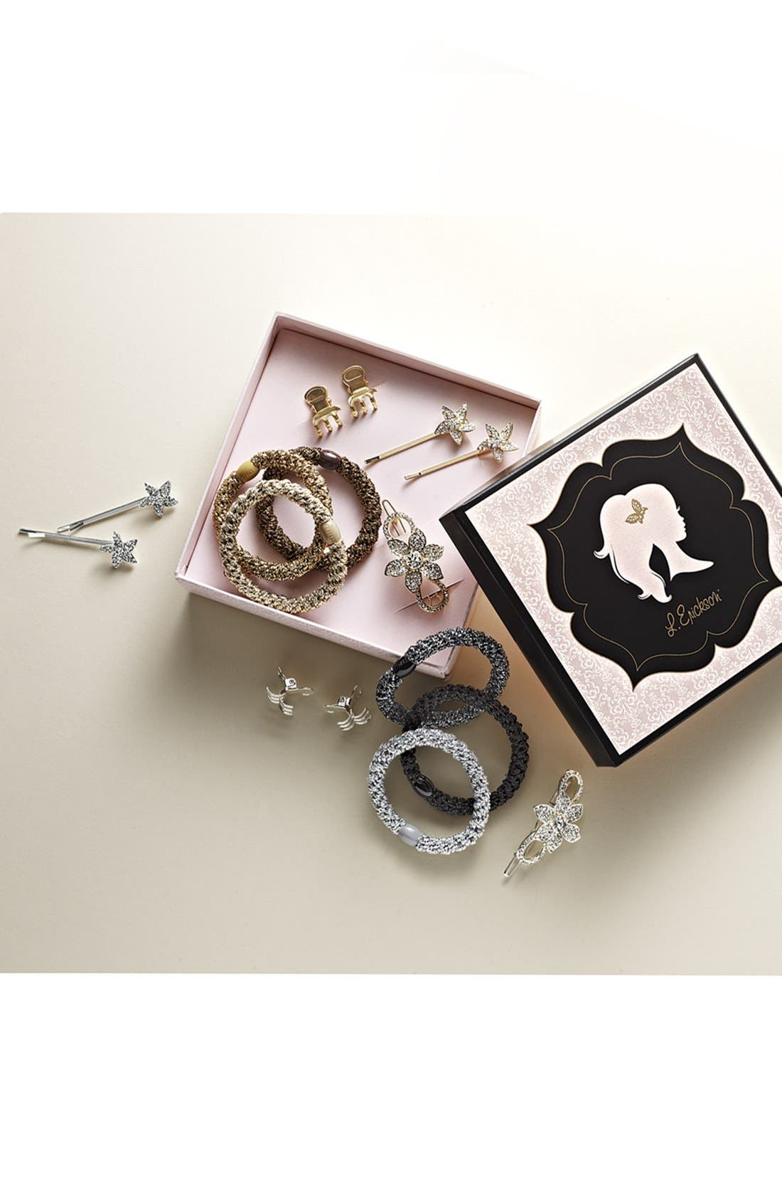 Hair Accessories Gift Box,                             Alternate thumbnail 3, color,                             040